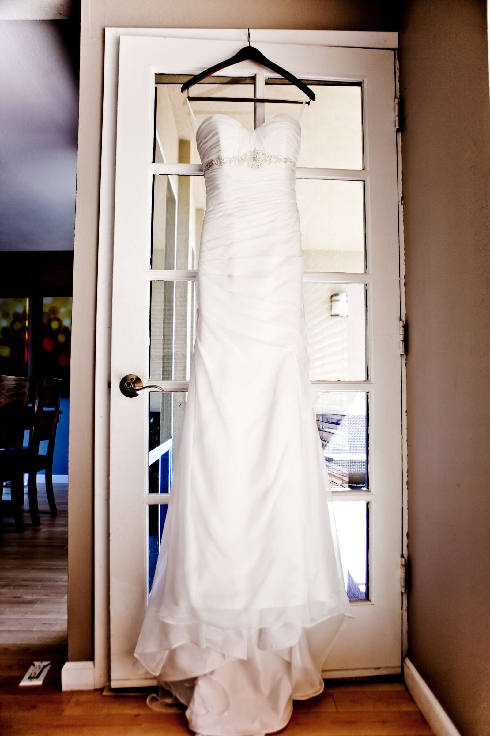 Wedding Dress at Ultimate Skybox Wedding, Chelsea and Frank Wedding Photo #18 by True Photography