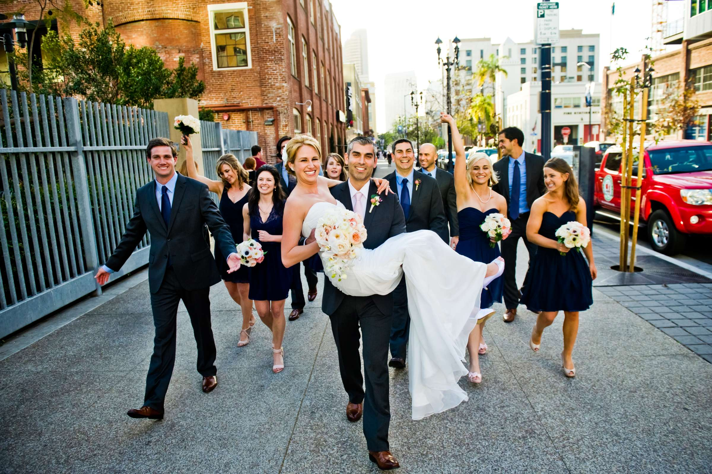 Urban Downtown at Ultimate Skybox Wedding, Chelsea and Frank Wedding Photo #46 by True Photography