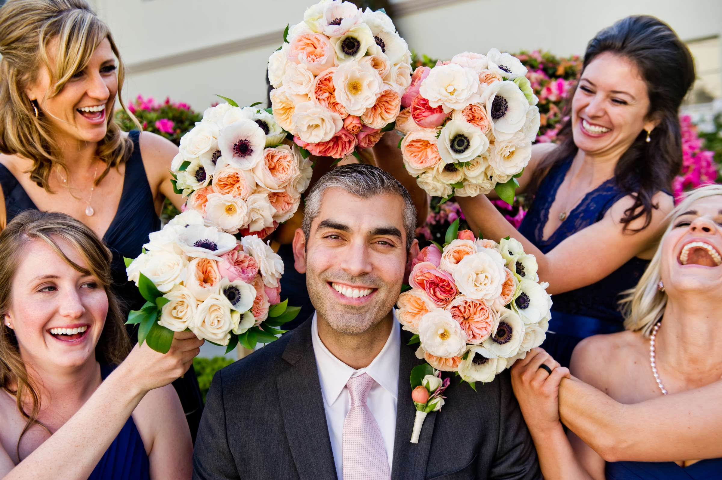 Bouquet at Ultimate Skybox Wedding, Chelsea and Frank Wedding Photo #48 by True Photography