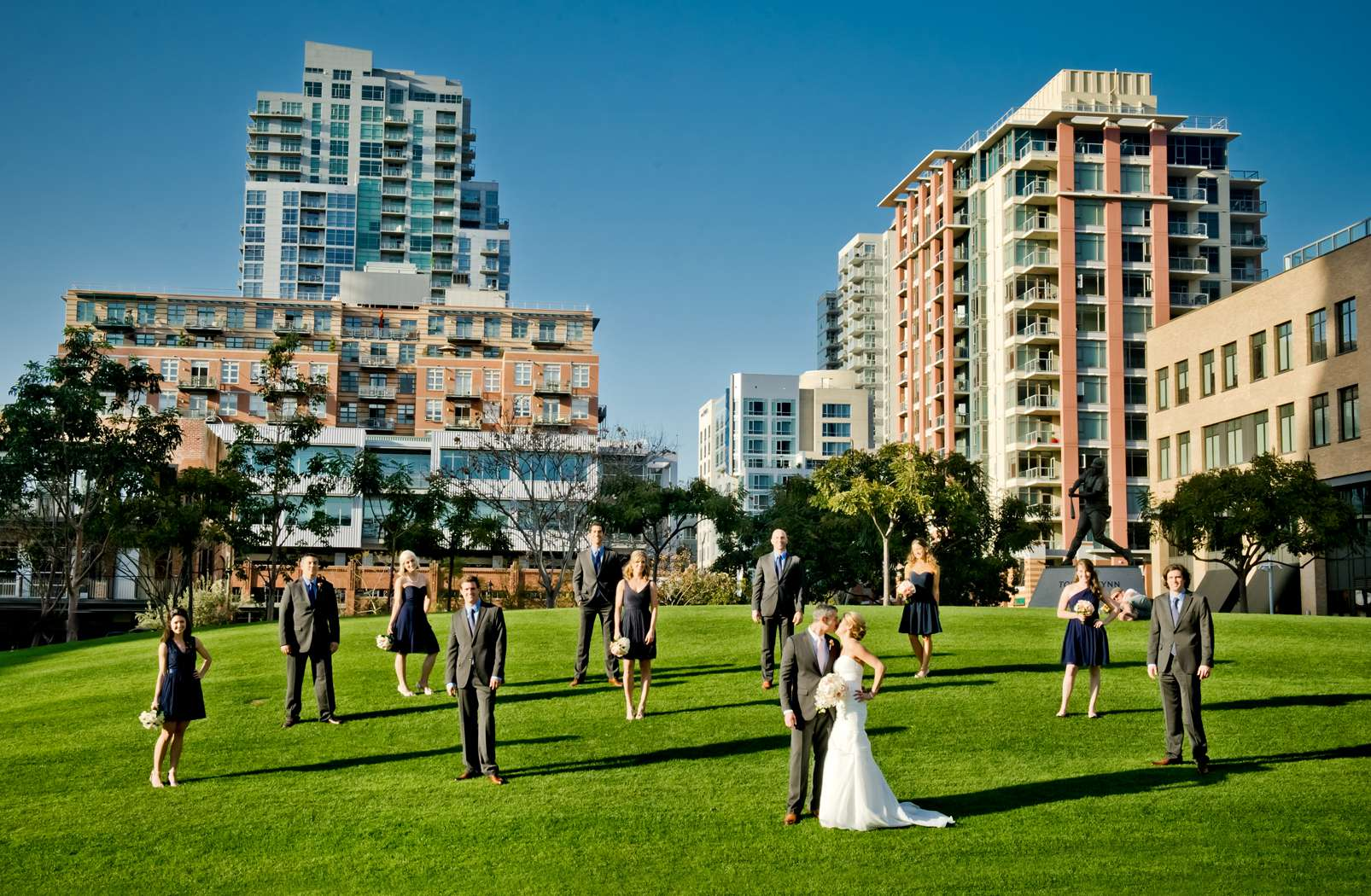 Urban Downtown at Ultimate Skybox Wedding, Chelsea and Frank Wedding Photo #9 by True Photography