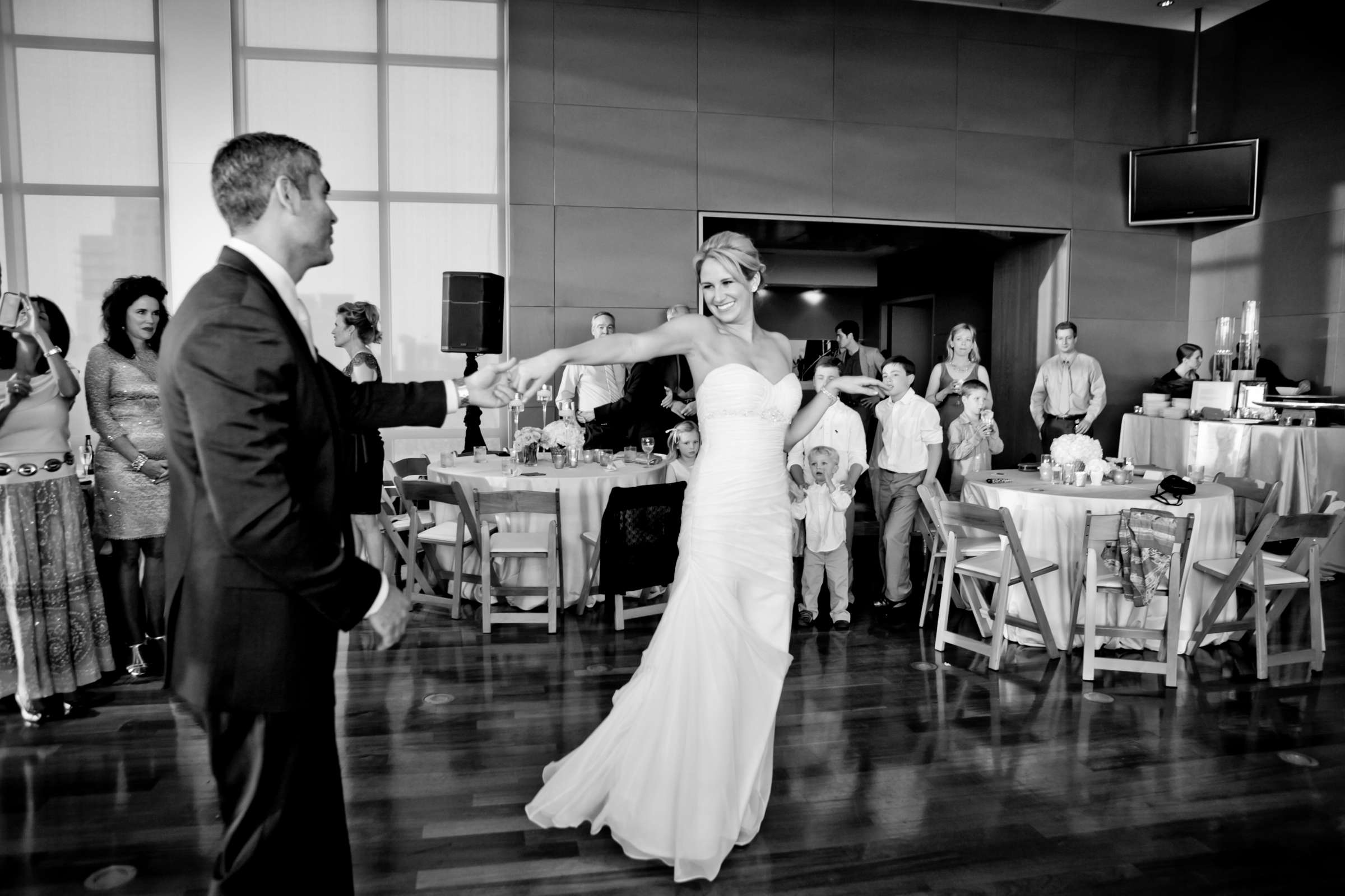Ultimate Skybox Wedding, Chelsea and Frank Wedding Photo #52 by True Photography