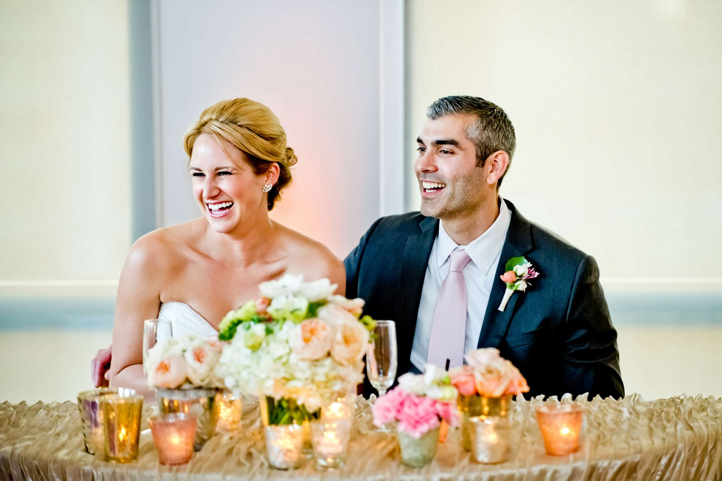 Reception at Ultimate Skybox Wedding, Chelsea and Frank Wedding Photo #55 by True Photography