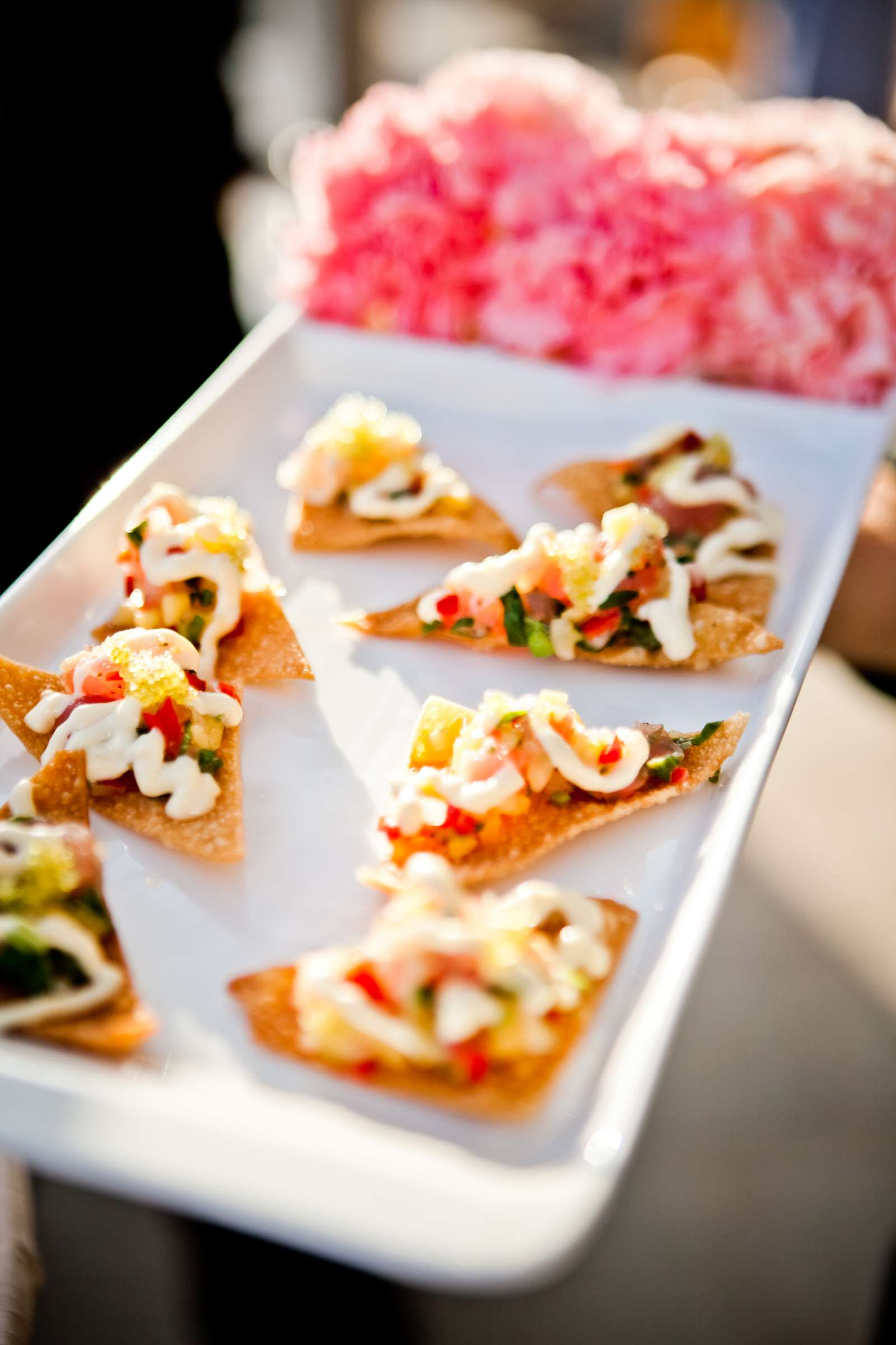 Food at Ultimate Skybox Wedding, Chelsea and Frank Wedding Photo #56 by True Photography