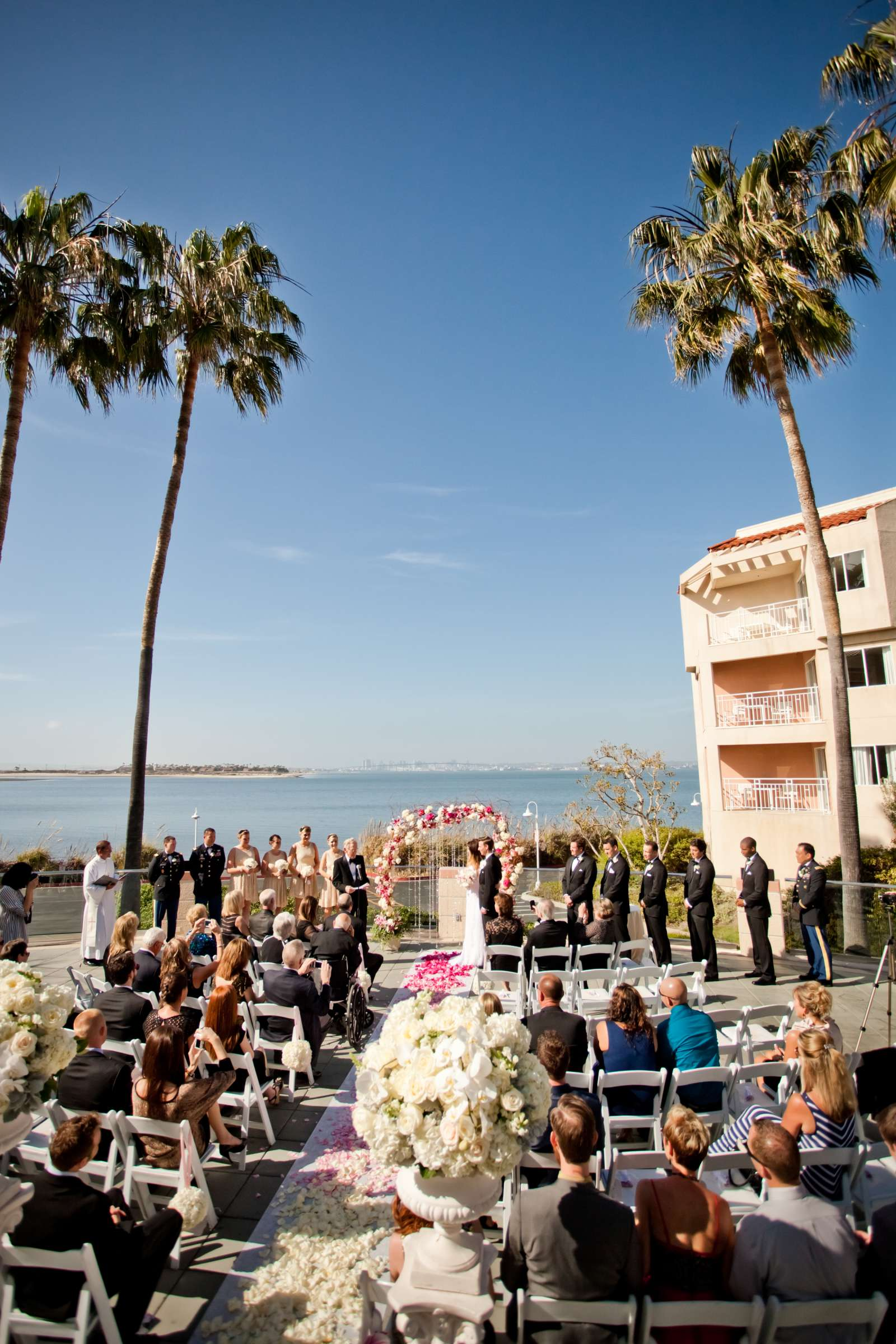 Loews Coronado Bay Resort Wedding coordinated by Kelly Lamb Events, Charlie and David Wedding Photo #9 by True Photography