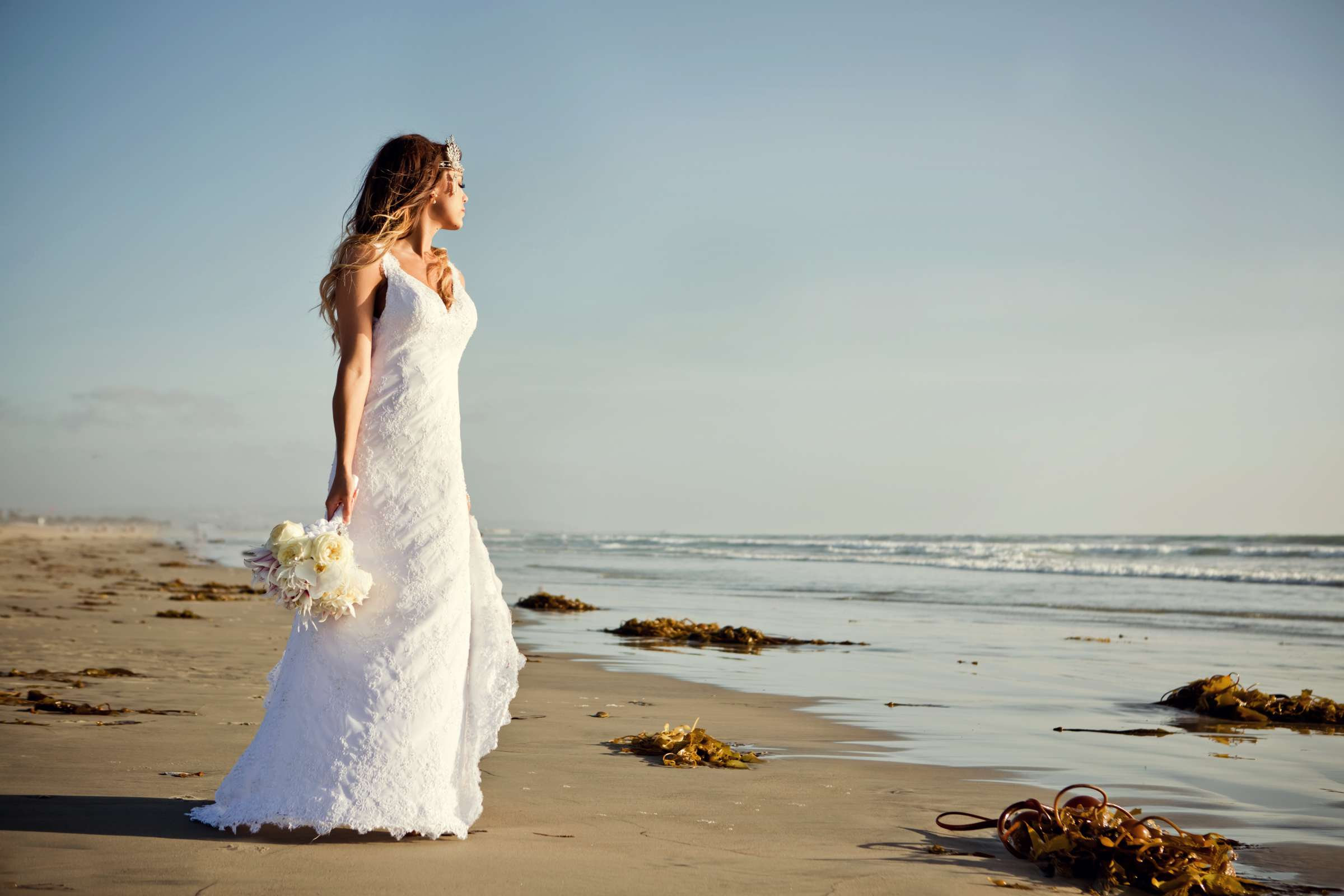 Loews Coronado Bay Resort Wedding coordinated by Kelly Lamb Events, Charlie and David Wedding Photo #3 by True Photography