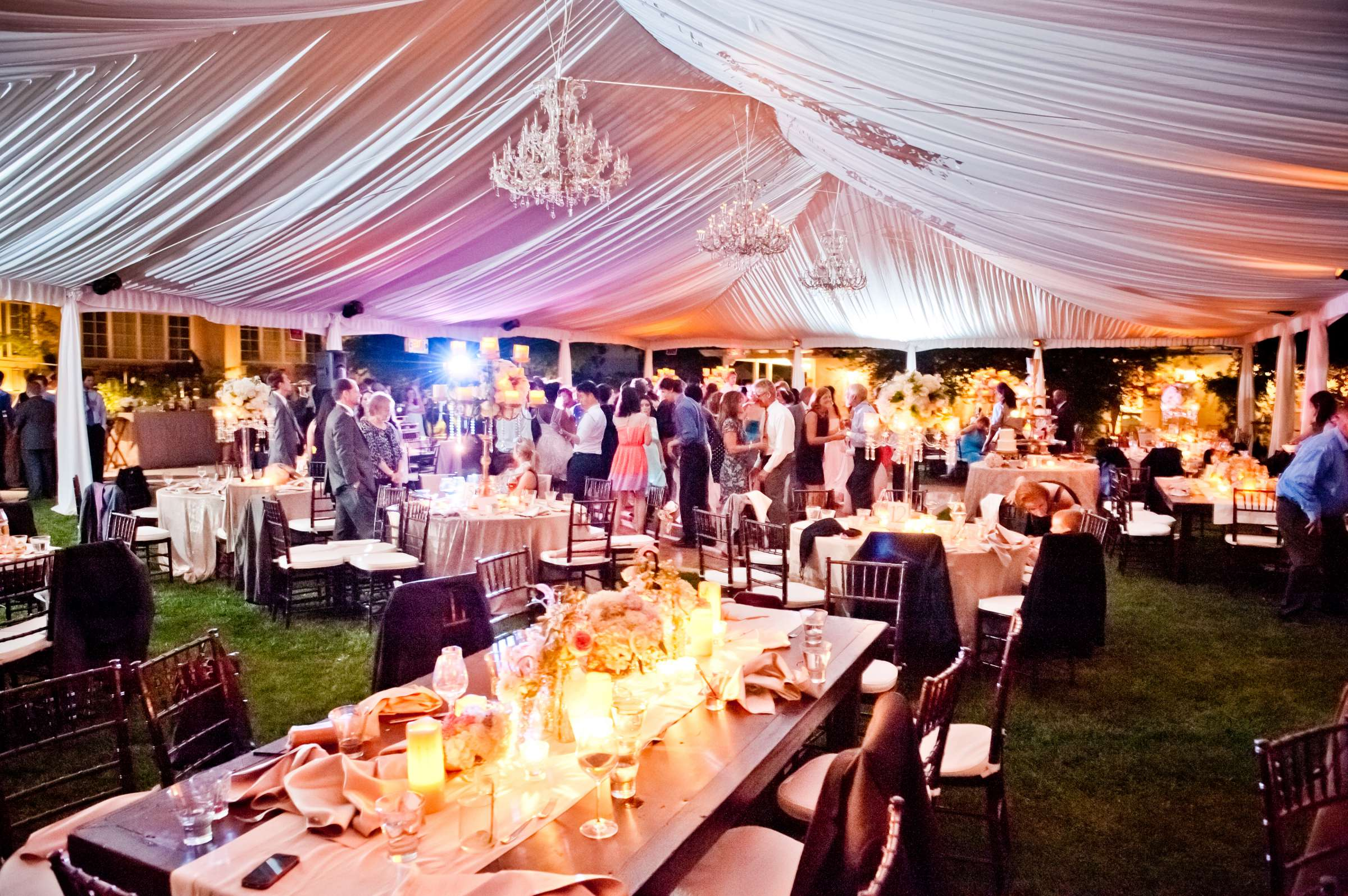 The Inn at Rancho Santa Fe Wedding coordinated by CZ Events, Michelle and Hyatt Wedding Photo #108 by True Photography