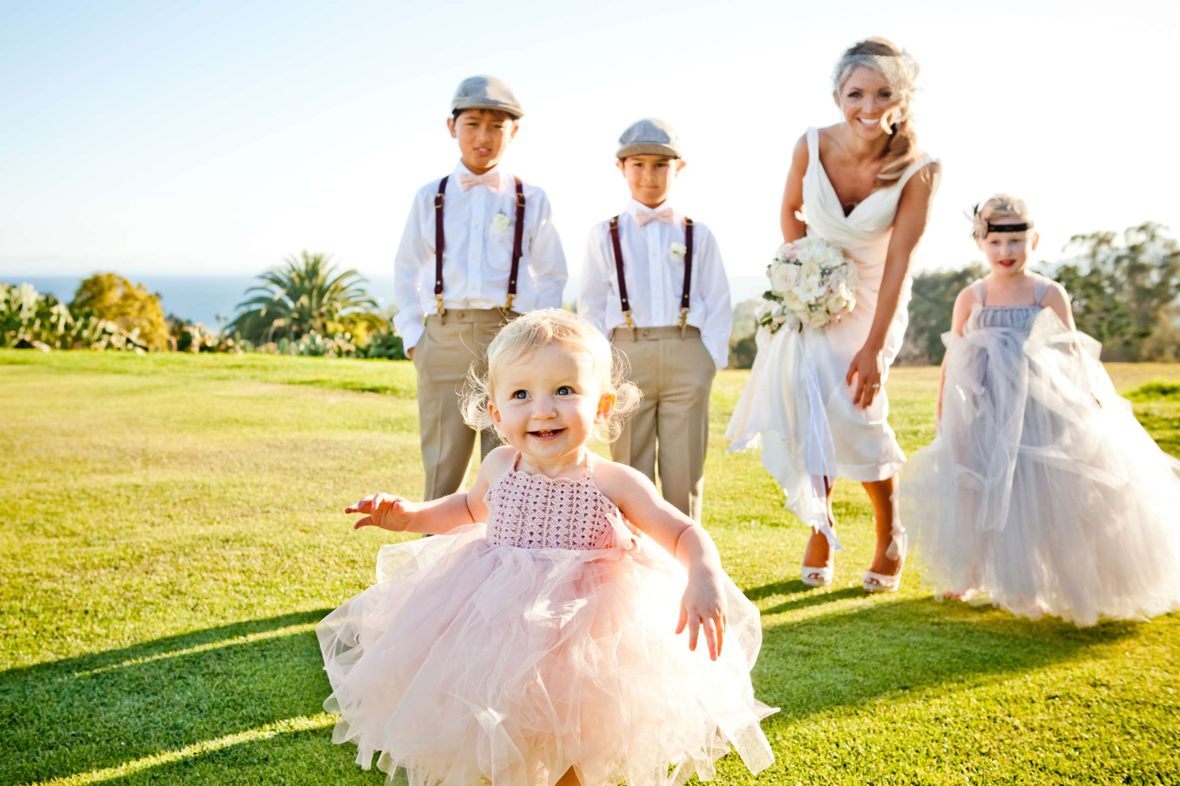 Kids at Montecito Country Club Wedding coordinated by Jill Remy, China and Dylan Wedding Photo #129876 by True Photography