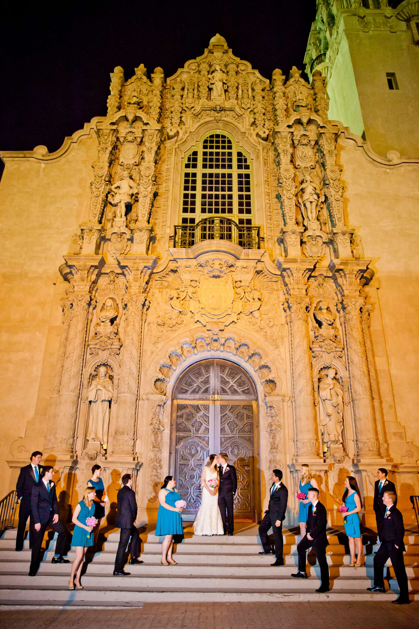 The Prado Wedding coordinated by First Comes Love Weddings & Events, Erin and Peter Wedding Photo #7 by True Photography
