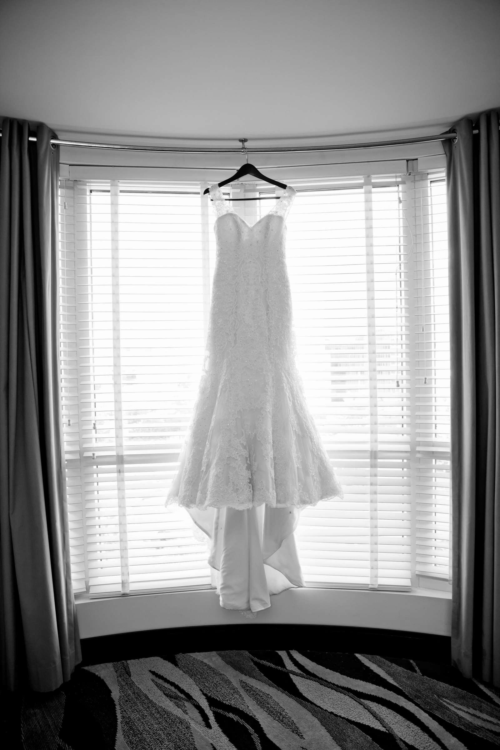 Wedding Dress at The Prado Wedding coordinated by First Comes Love Weddings & Events, Erin and Peter Wedding Photo #8 by True Photography