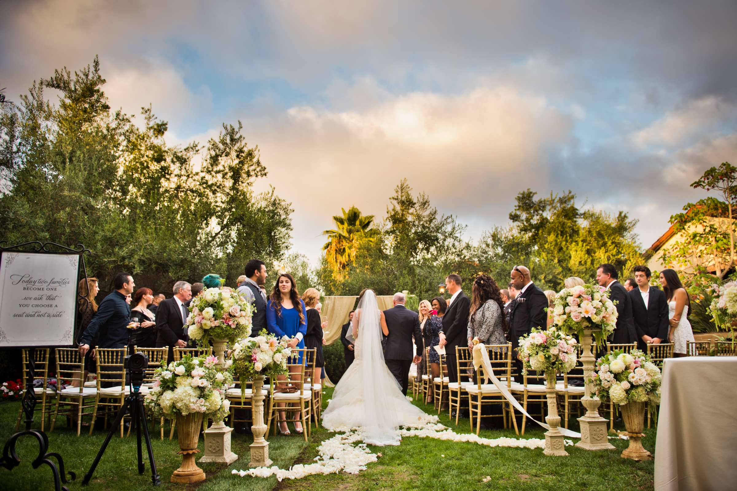 Estancia Wedding coordinated by EverAfter Events, Shaina and James Wedding Photo #140824 by True Photography