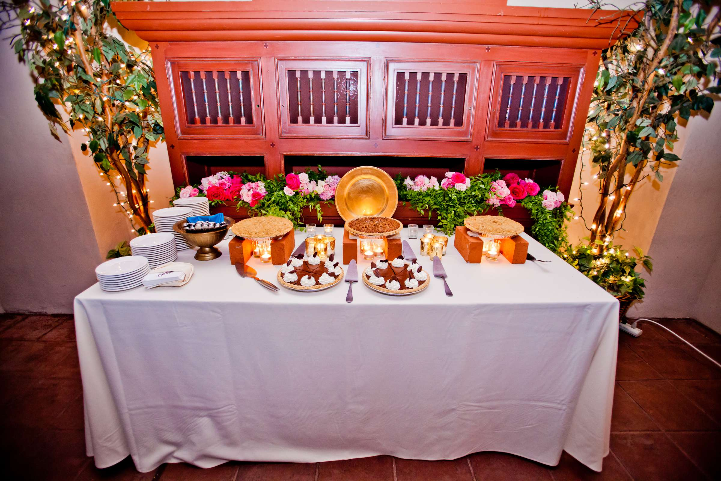 Dessert Table at The Prado Wedding coordinated by First Comes Love Weddings & Events, Erin and Peter Wedding Photo #76 by True Photography