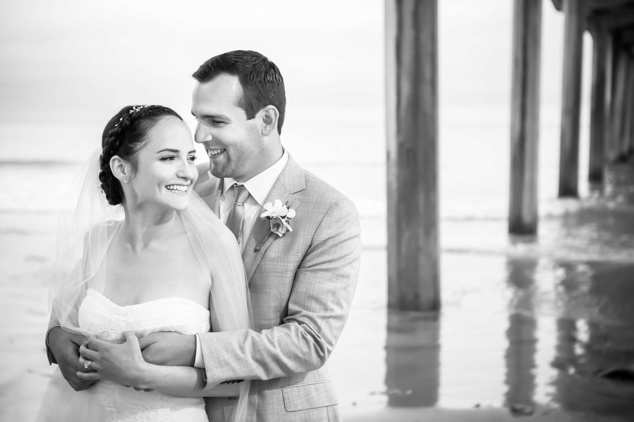 Scripps Seaside Forum Wedding coordinated by Francine Ribeau Events, Shaina and Christopher Wedding Photo #5 by True Photography