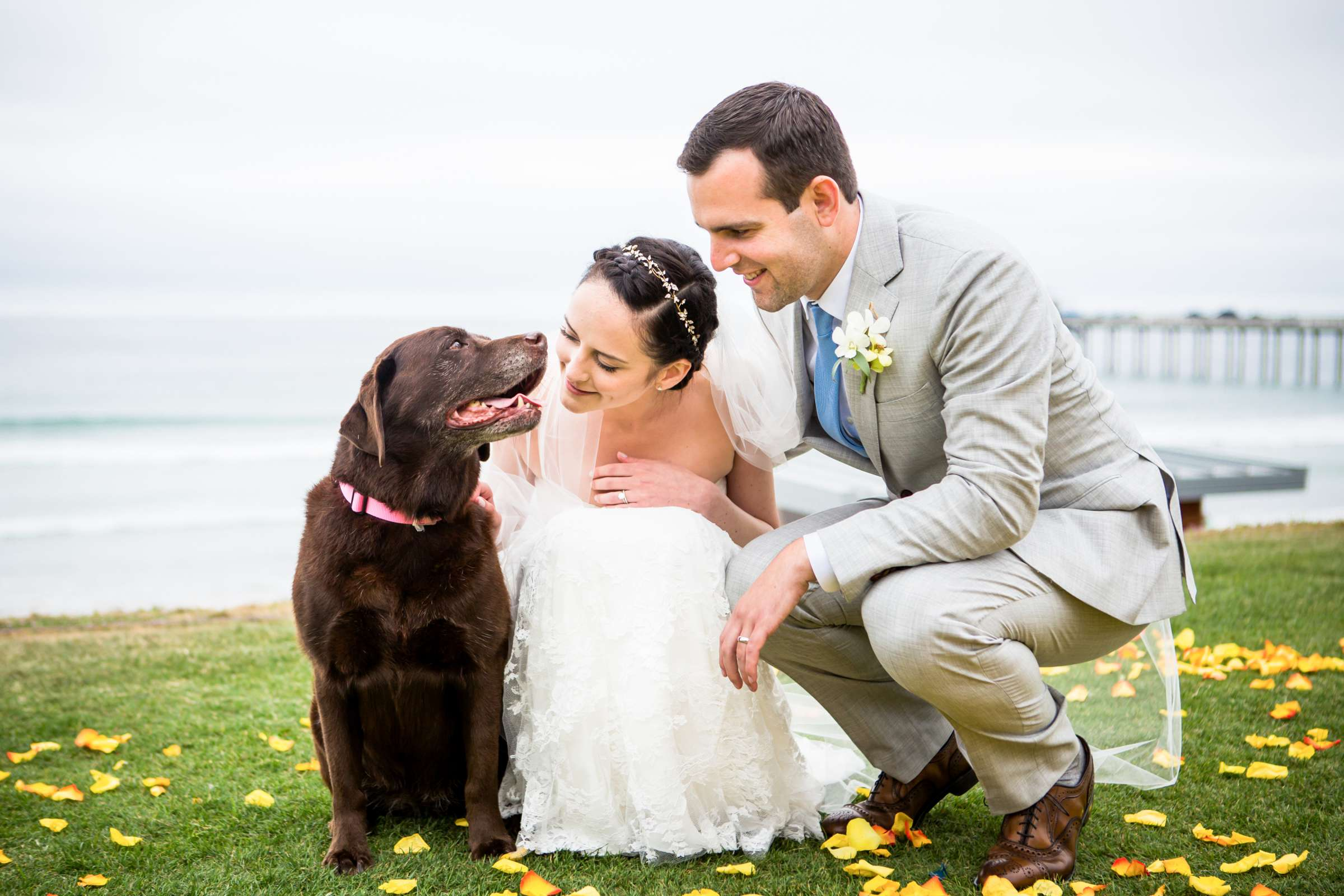 Scripps Seaside Forum Wedding coordinated by Francine Ribeau Events, Shaina and Christopher Wedding Photo #1 by True Photography
