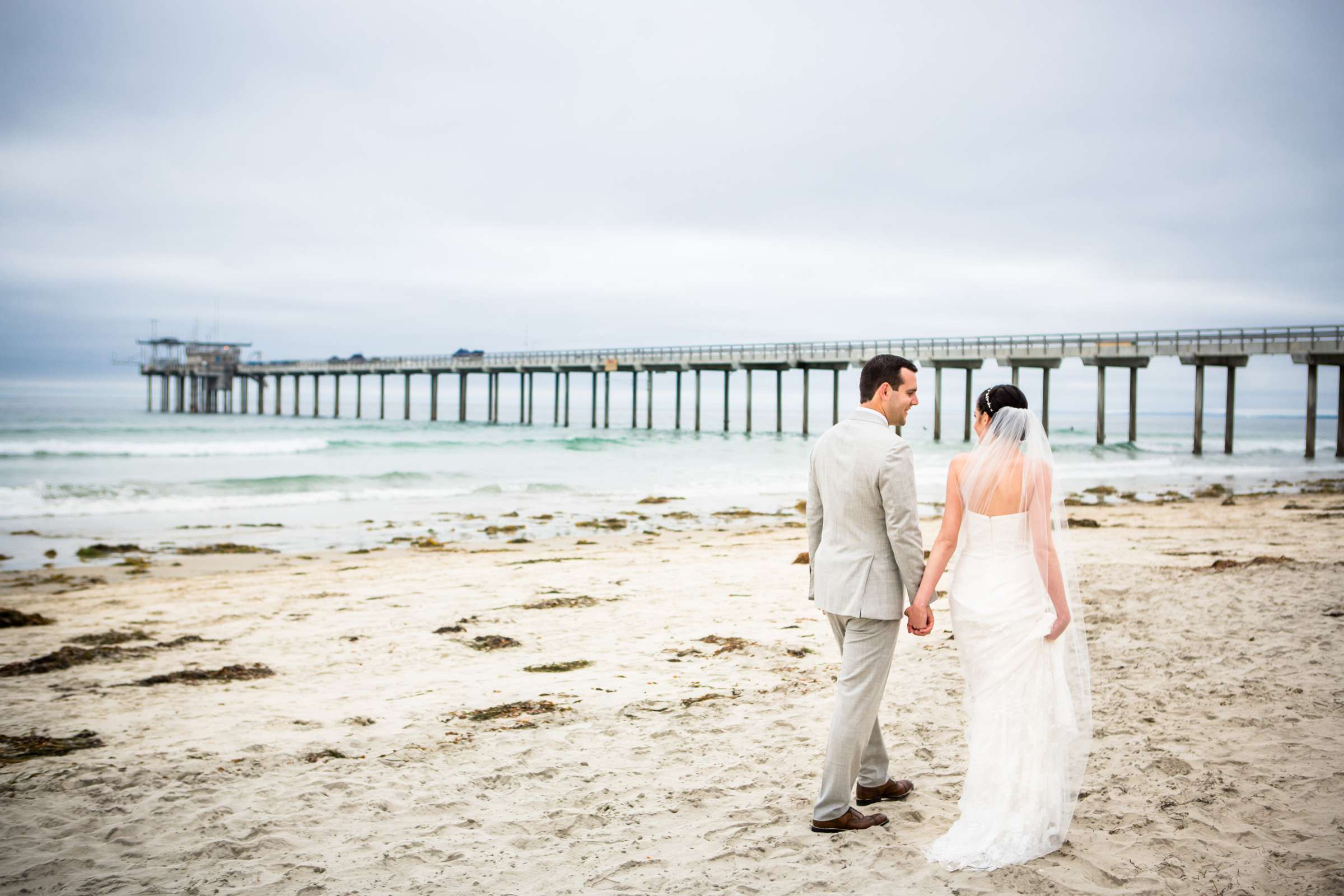 Scripps Seaside Forum Wedding coordinated by Francine Ribeau Events, Shaina and Christopher Wedding Photo #7 by True Photography