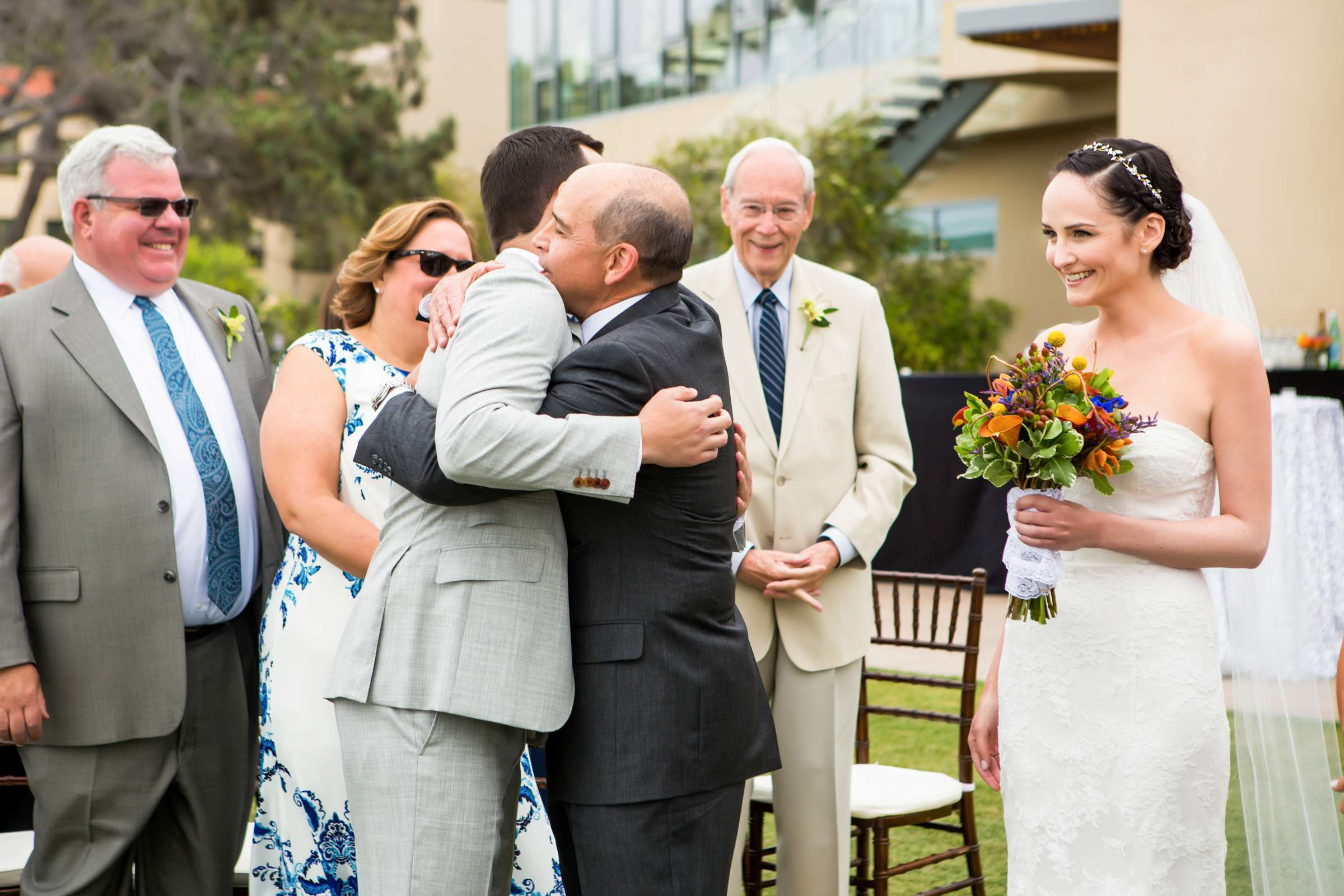 Scripps Seaside Forum Wedding coordinated by Francine Ribeau Events, Shaina and Christopher Wedding Photo #23 by True Photography