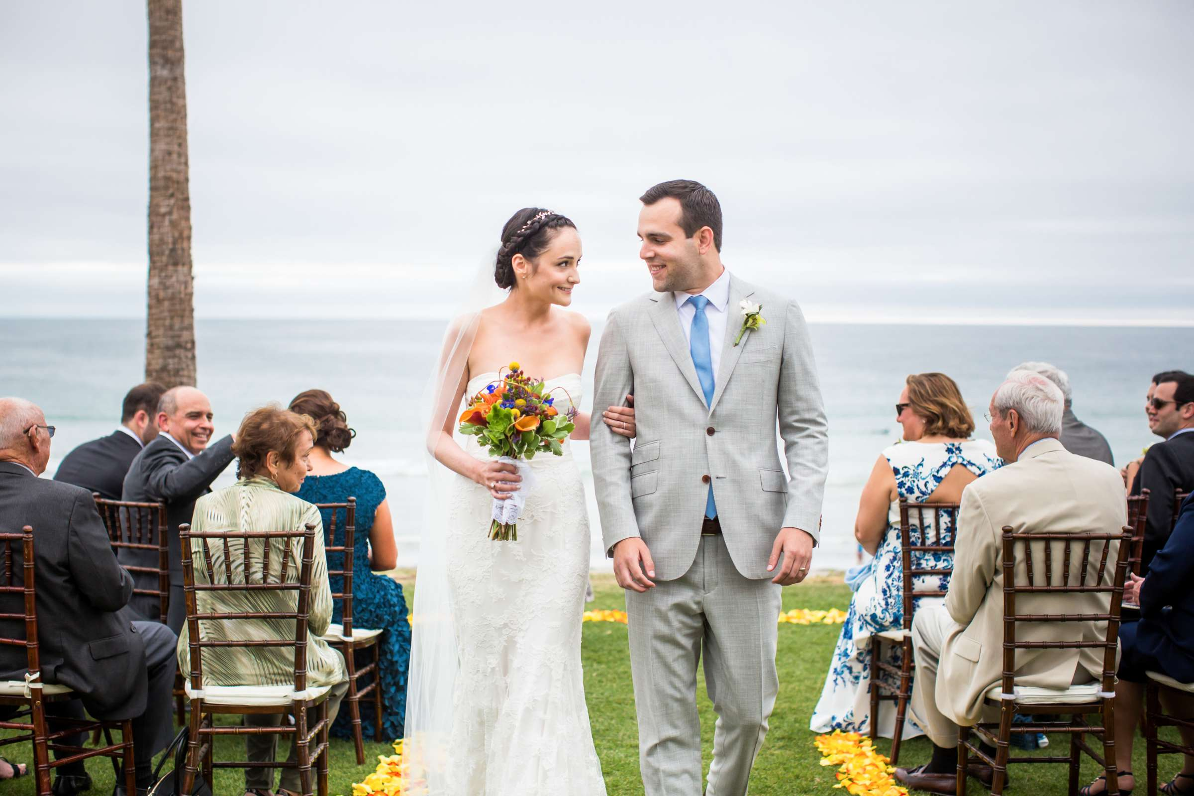 Scripps Seaside Forum Wedding coordinated by Francine Ribeau Events, Shaina and Christopher Wedding Photo #28 by True Photography