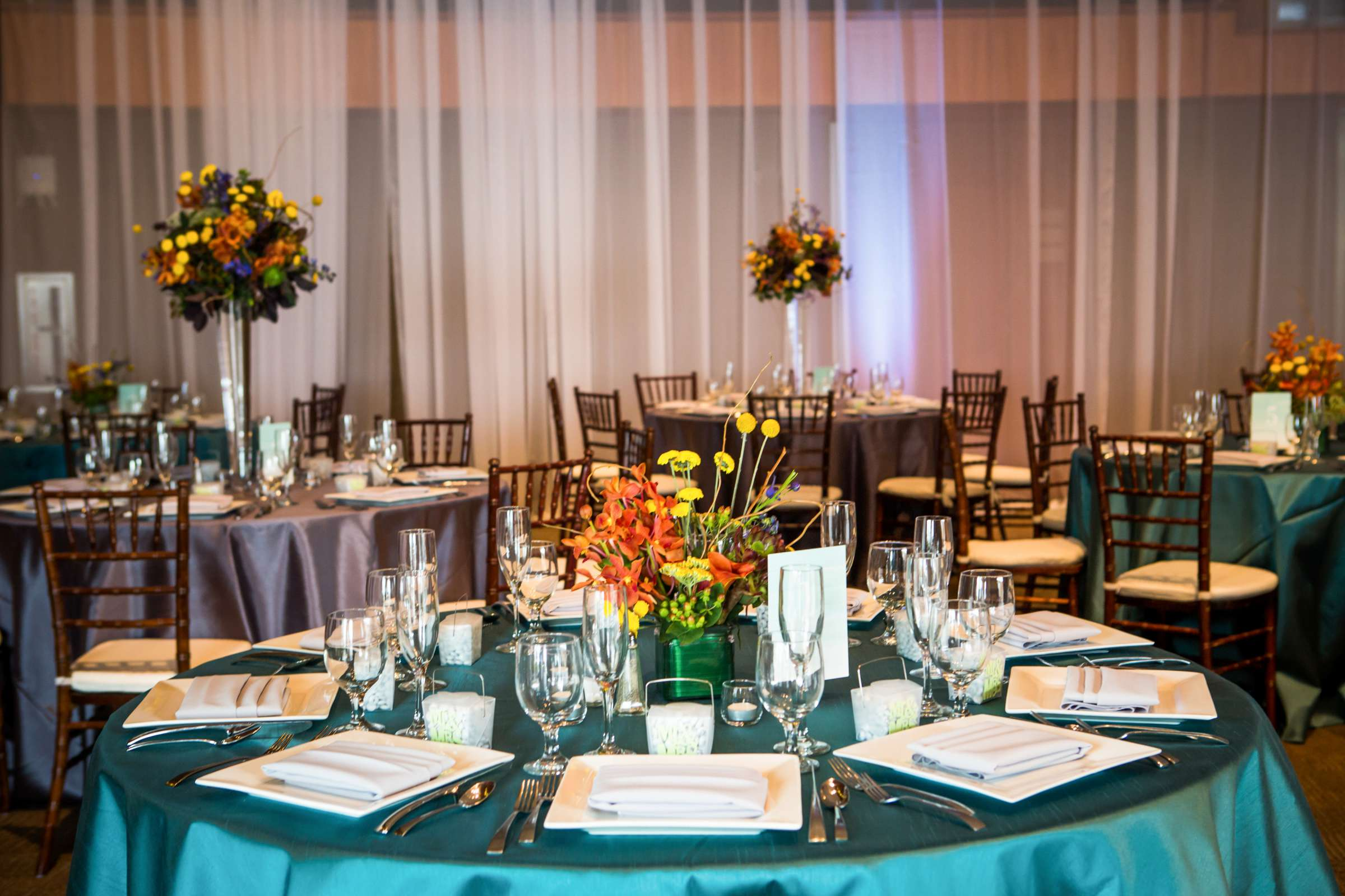 Scripps Seaside Forum Wedding coordinated by Francine Ribeau Events, Shaina and Christopher Wedding Photo #31 by True Photography