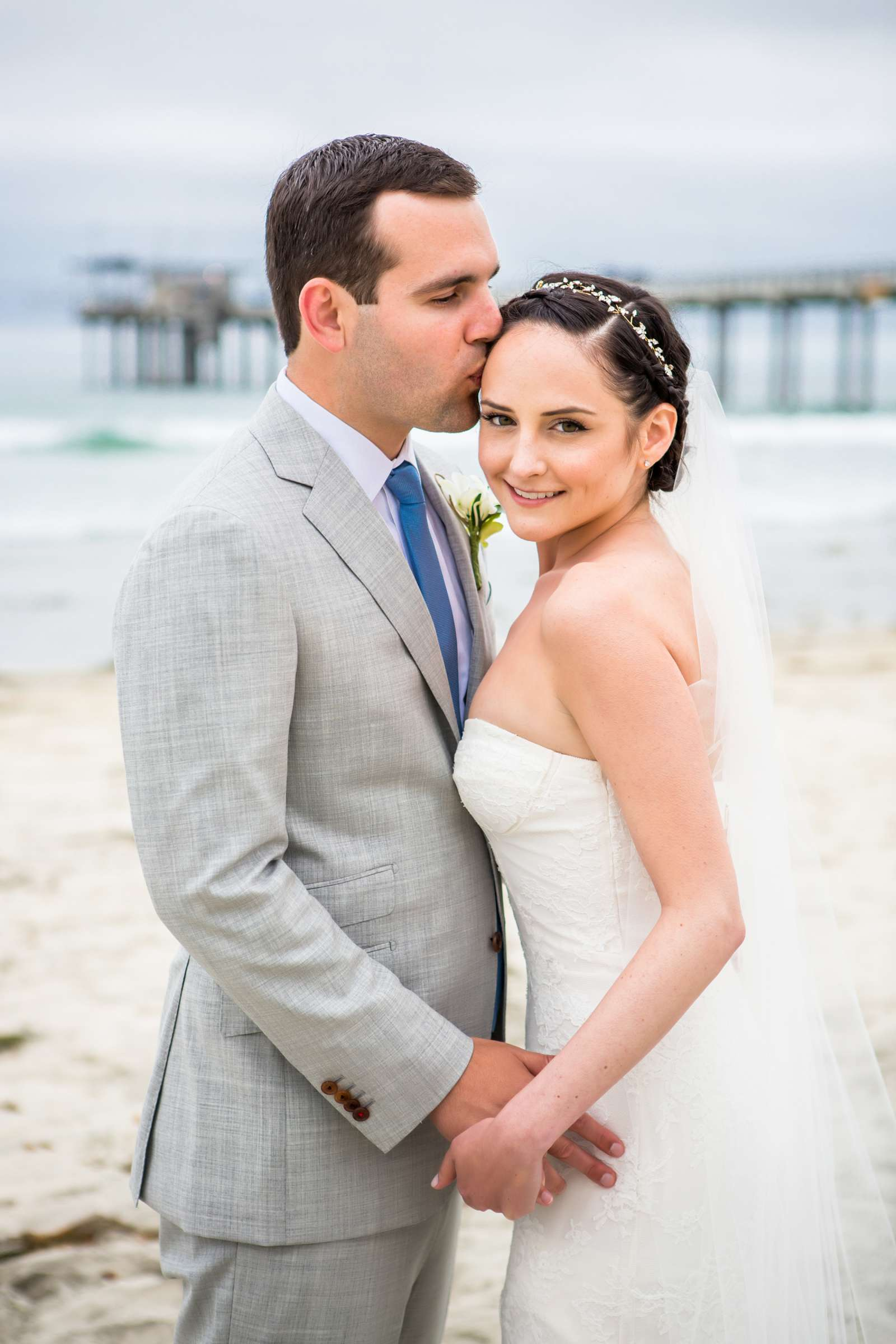 Scripps Seaside Forum Wedding coordinated by Francine Ribeau Events, Shaina and Christopher Wedding Photo #34 by True Photography