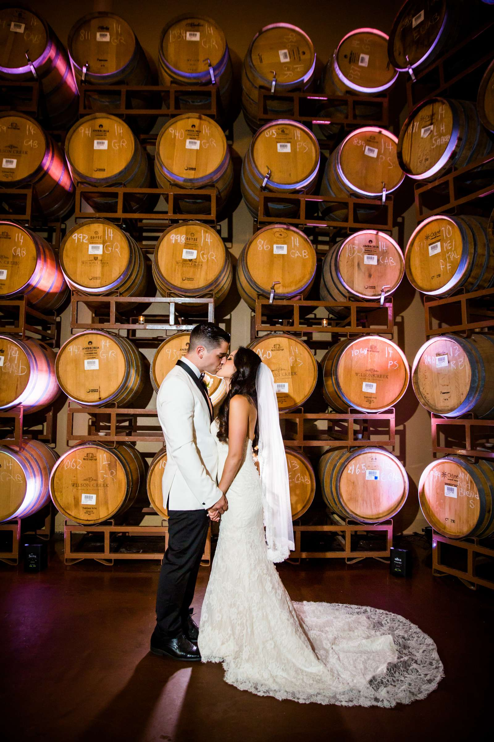 Wilson Creek Winery Wedding, Quynhnhi and Jacob Wedding Photo #1 by True Photography