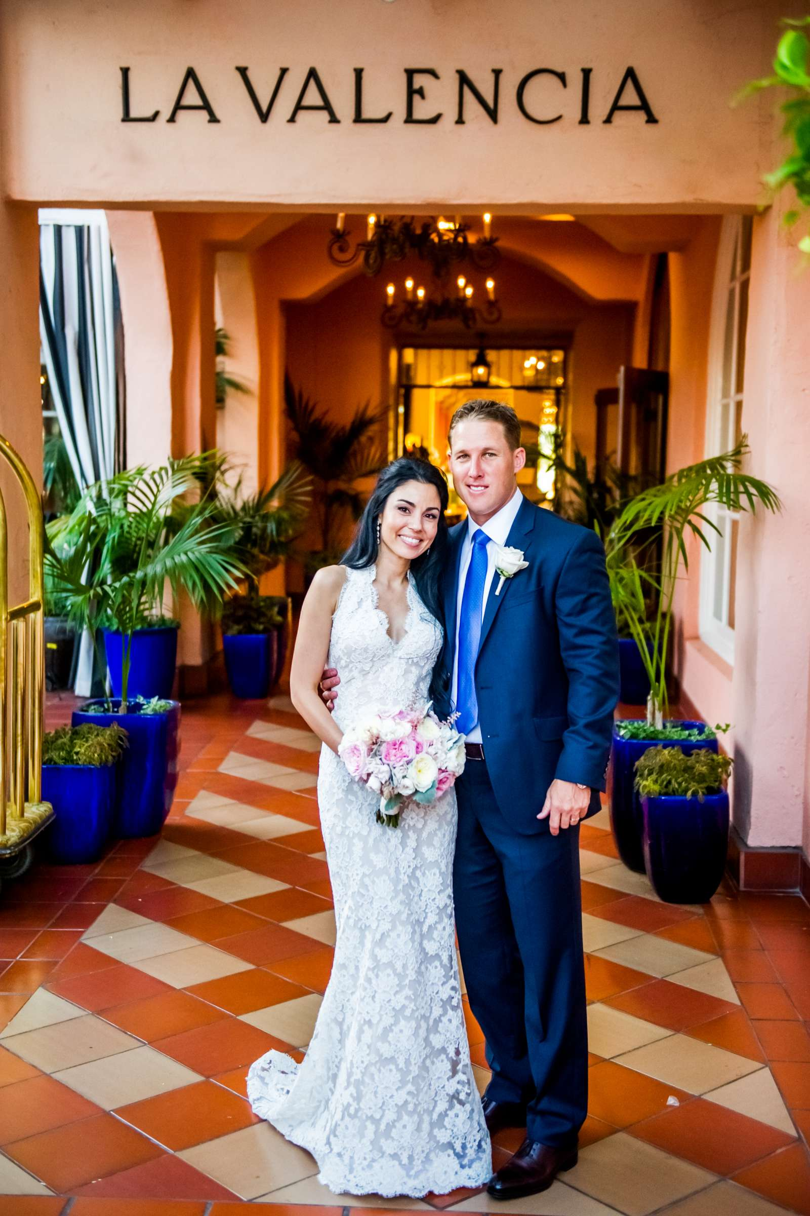 La Valencia Wedding coordinated by First Comes Love Weddings & Events, Lea and Nick Wedding Photo #7 by True Photography