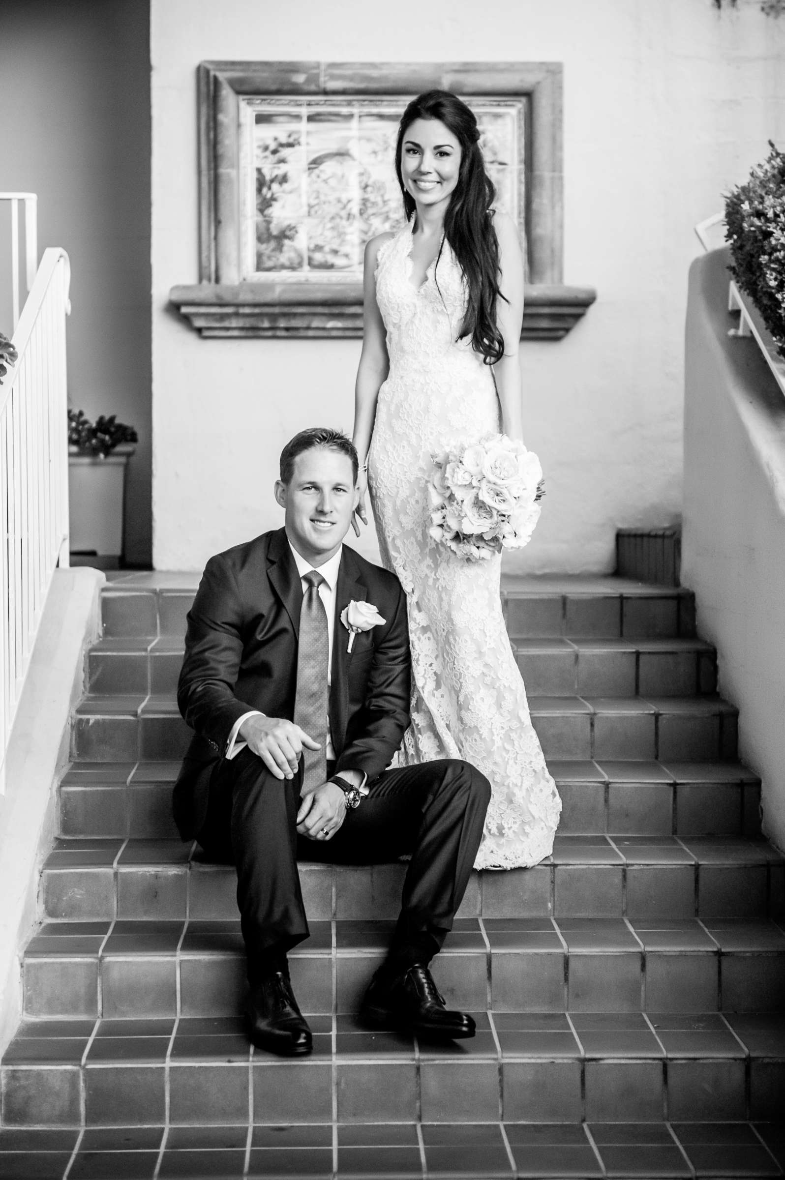 La Valencia Wedding coordinated by First Comes Love Weddings & Events, Lea and Nick Wedding Photo #8 by True Photography