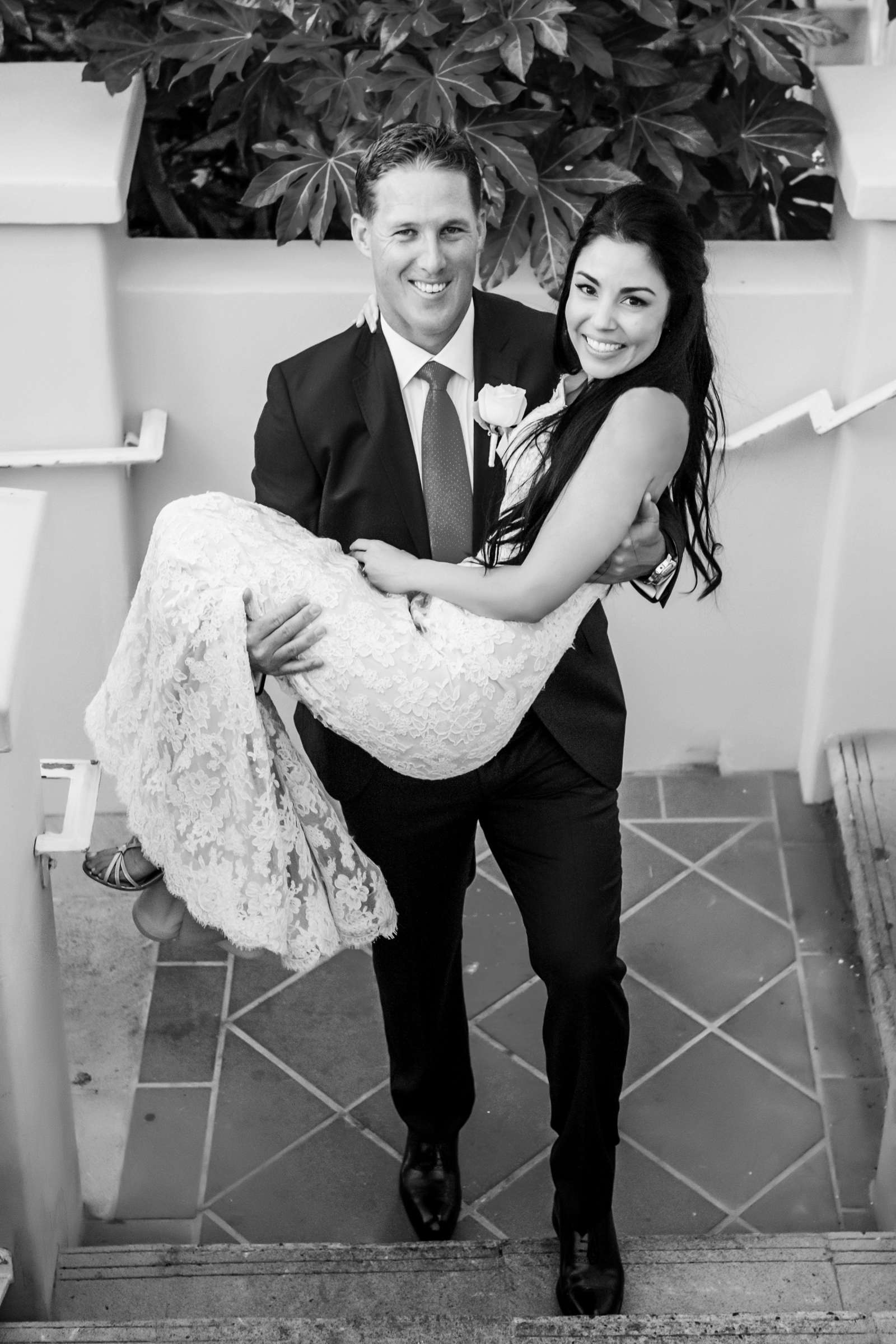 La Valencia Wedding coordinated by First Comes Love Weddings & Events, Lea and Nick Wedding Photo #9 by True Photography