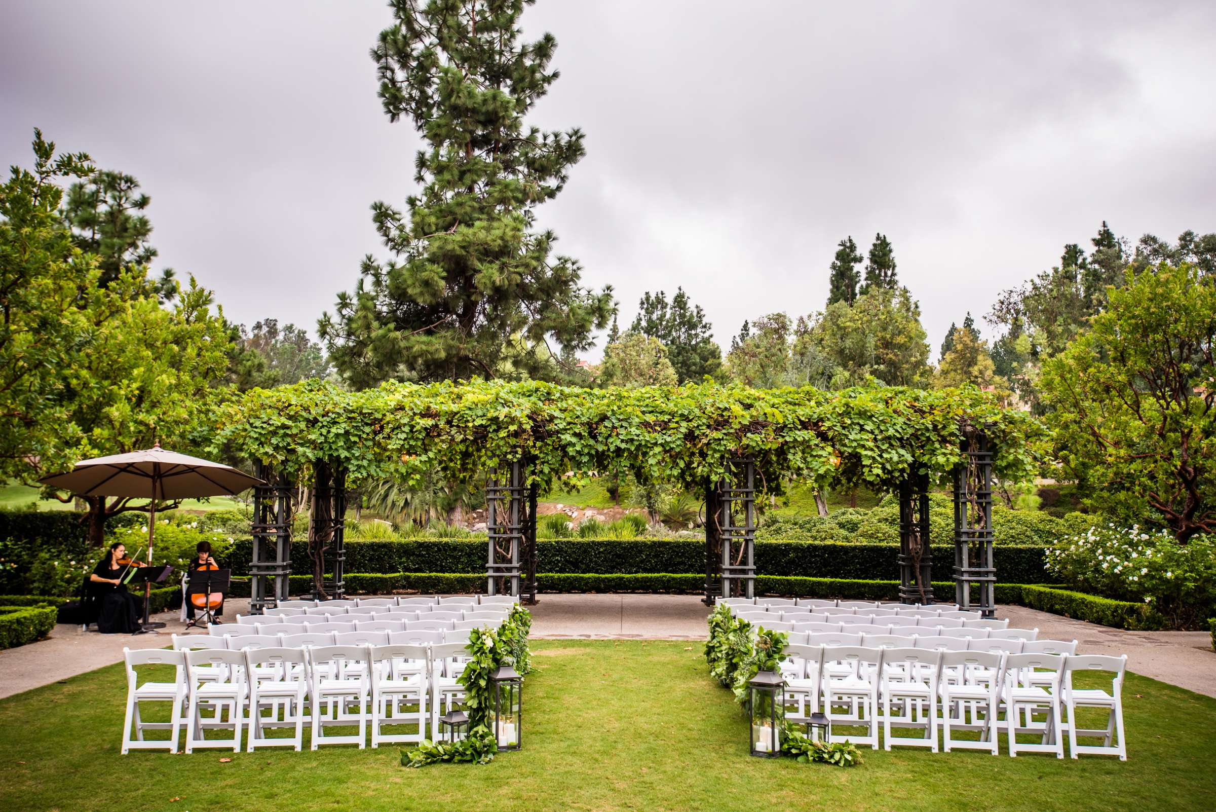 Rancho Bernardo Inn Wedding coordinated by Très Chic Events, Stefania and Nicholas Wedding Photo #9 by True Photography