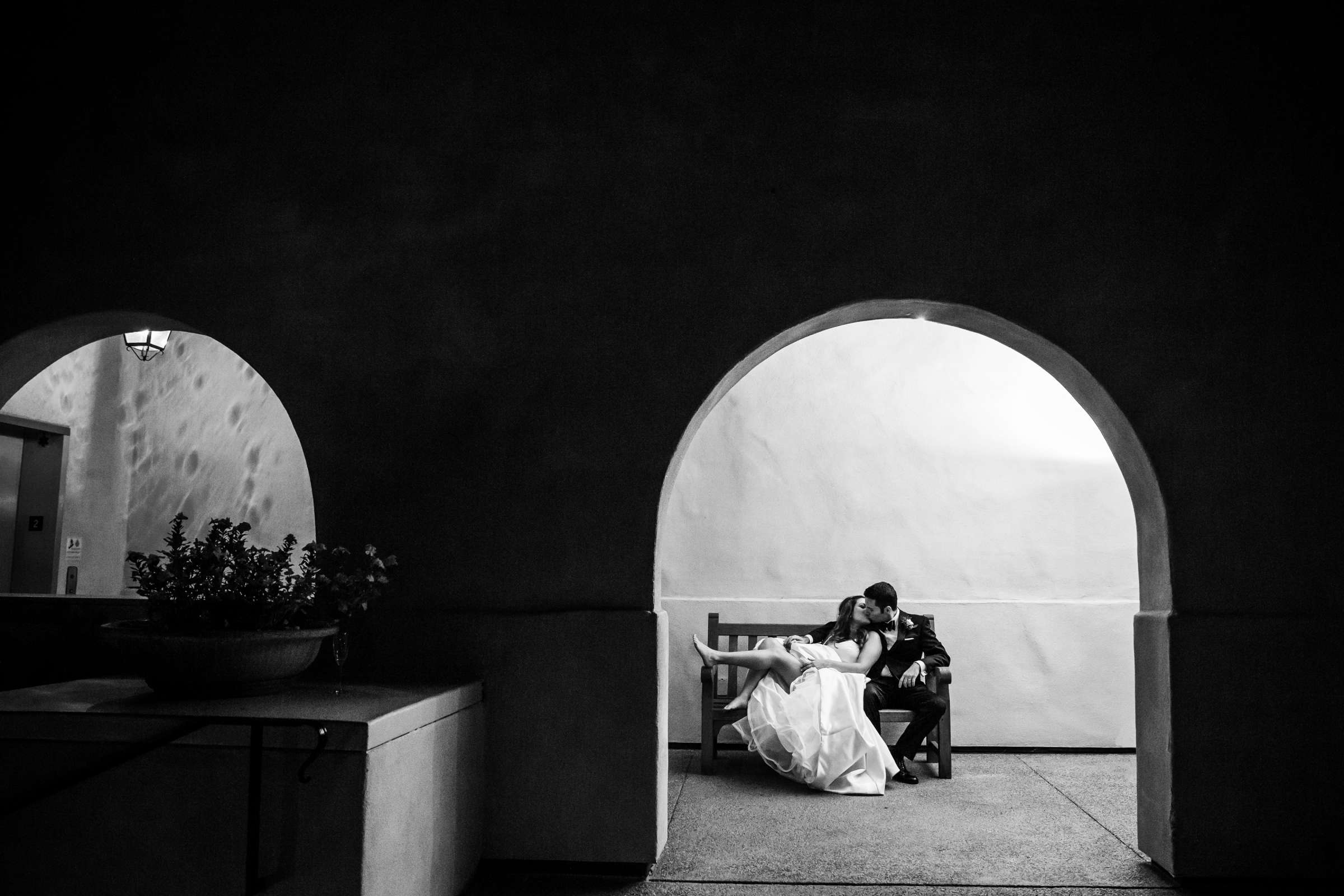 Rancho Bernardo Inn Wedding coordinated by Très Chic Events, Stefania and Nicholas Wedding Photo #11 by True Photography