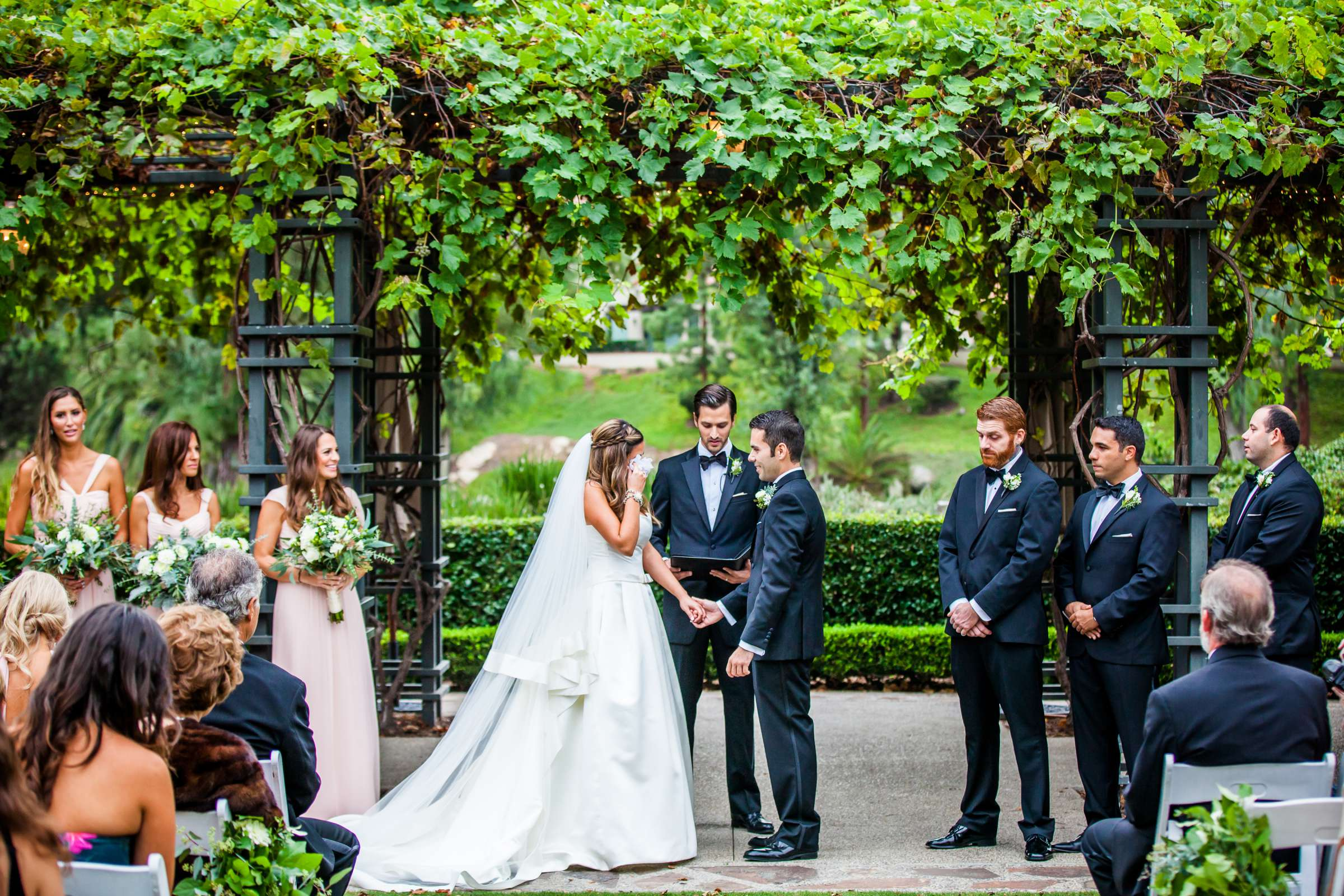 Rancho Bernardo Inn Wedding coordinated by Très Chic Events, Stefania and Nicholas Wedding Photo #40 by True Photography