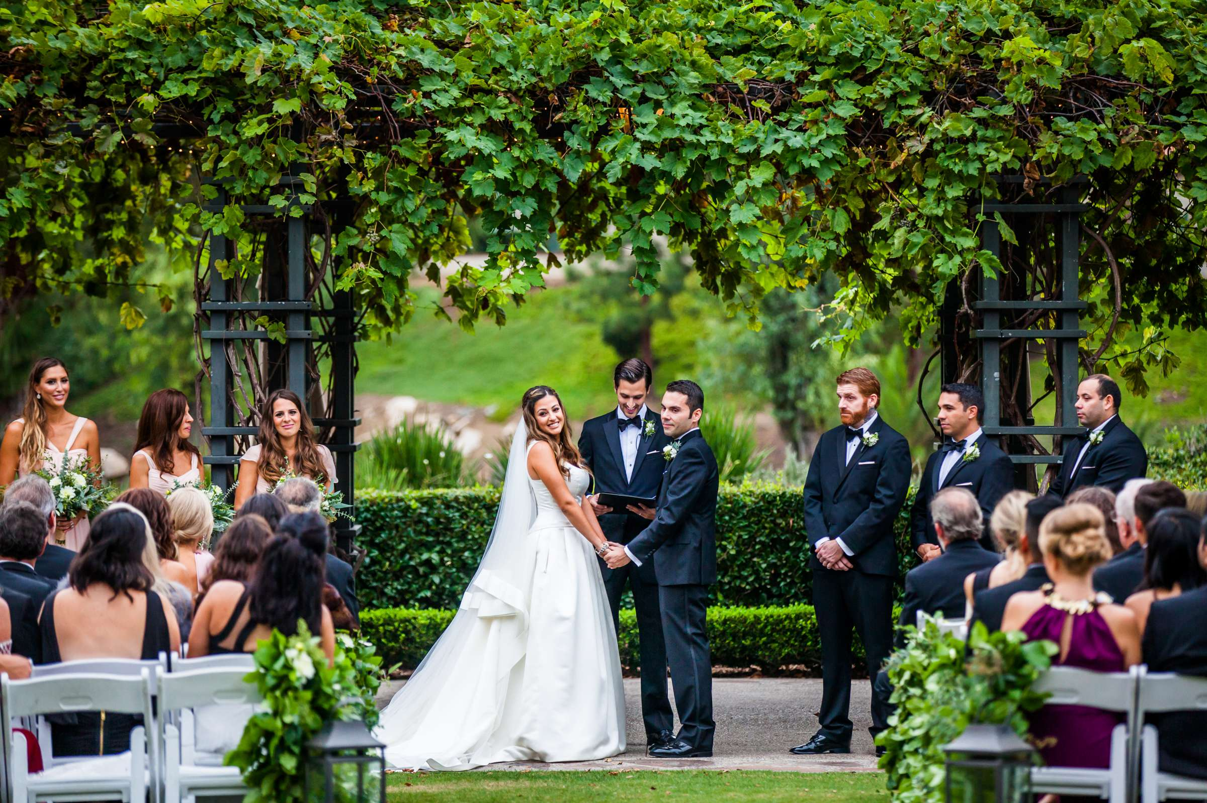 Rancho Bernardo Inn Wedding coordinated by Très Chic Events, Stefania and Nicholas Wedding Photo #43 by True Photography