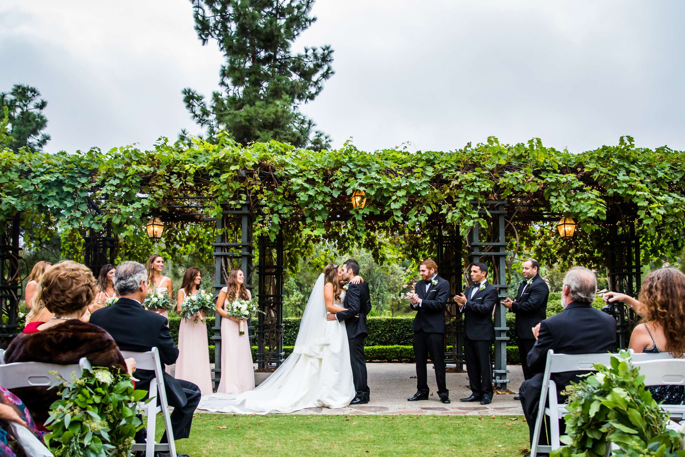 Rancho Bernardo Inn Wedding coordinated by Très Chic Events, Stefania and Nicholas Wedding Photo #49 by True Photography