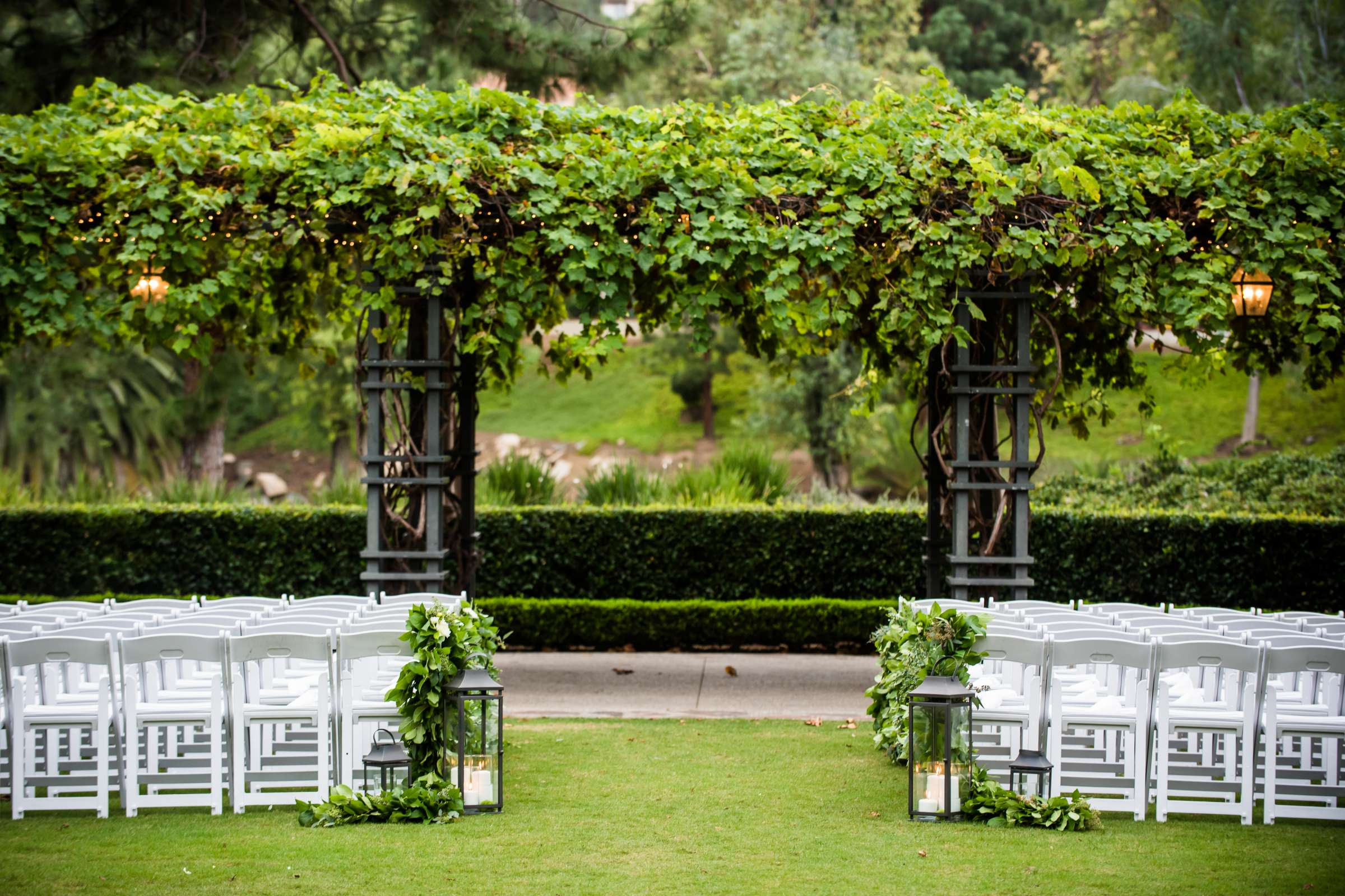 Rancho Bernardo Inn Wedding coordinated by Très Chic Events, Stefania and Nicholas Wedding Photo #98 by True Photography
