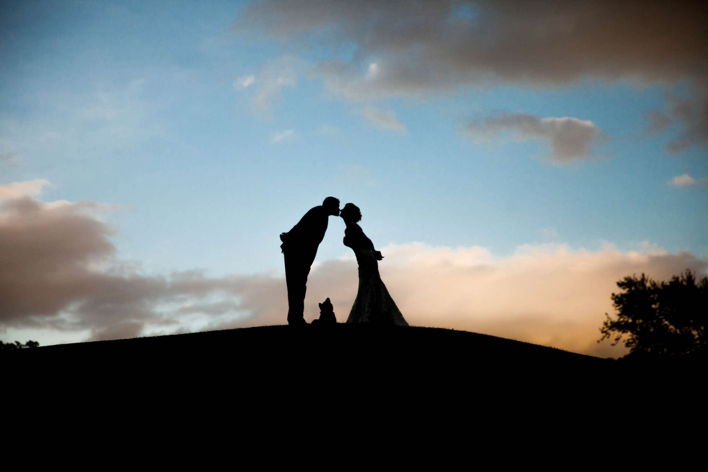 Sunset at Temecula Creek Inn Wedding, Therese and Joseph Wedding Photo #1 by True Photography
