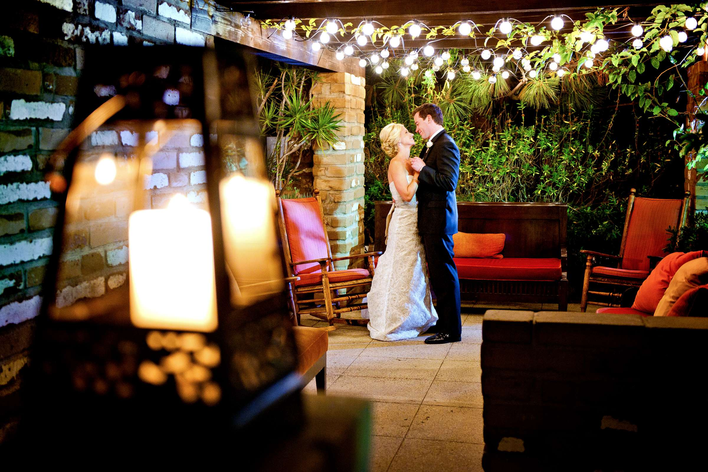 Night Shot at Estancia Wedding coordinated by Emily Smiley, Marissa and Danny Wedding Photo #2 by True Photography