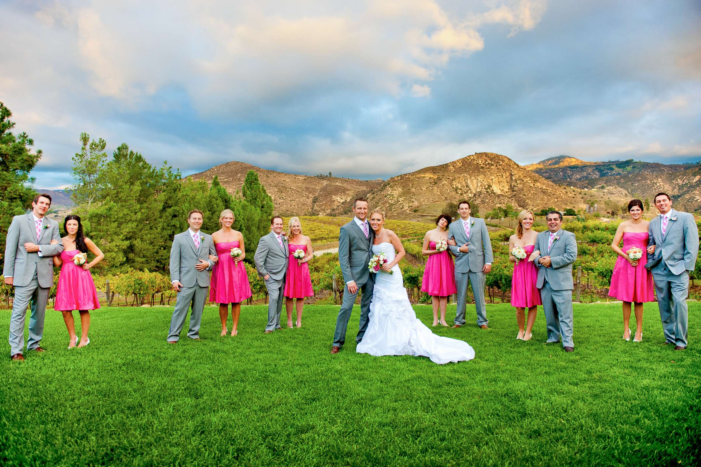 Orfila Vineyards Wedding, Mindy and Bryan Wedding Photo #3 by True Photography