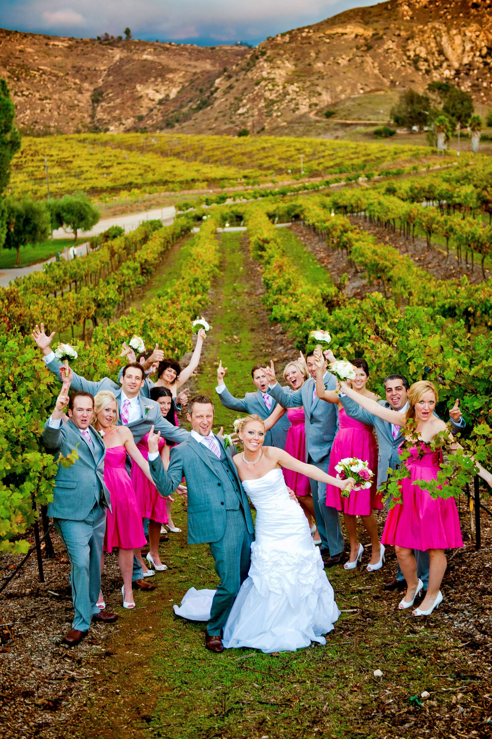 Orfila Vineyards Wedding, Mindy and Bryan Wedding Photo #30 by True Photography