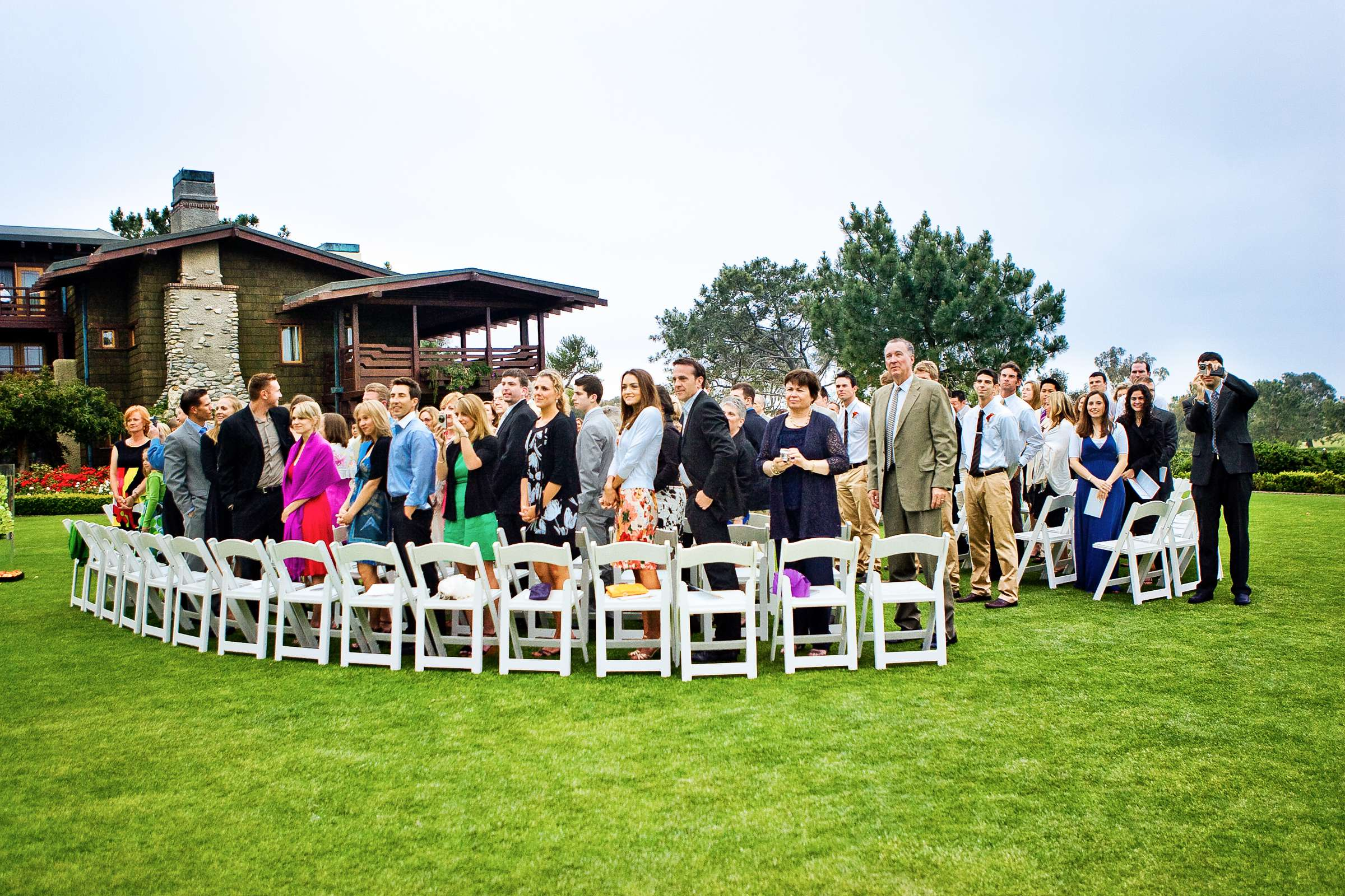 Lodge at Torrey Pines Wedding coordinated by Pink Papaya, Jen and Luke Wedding Photo #25 by True Photography