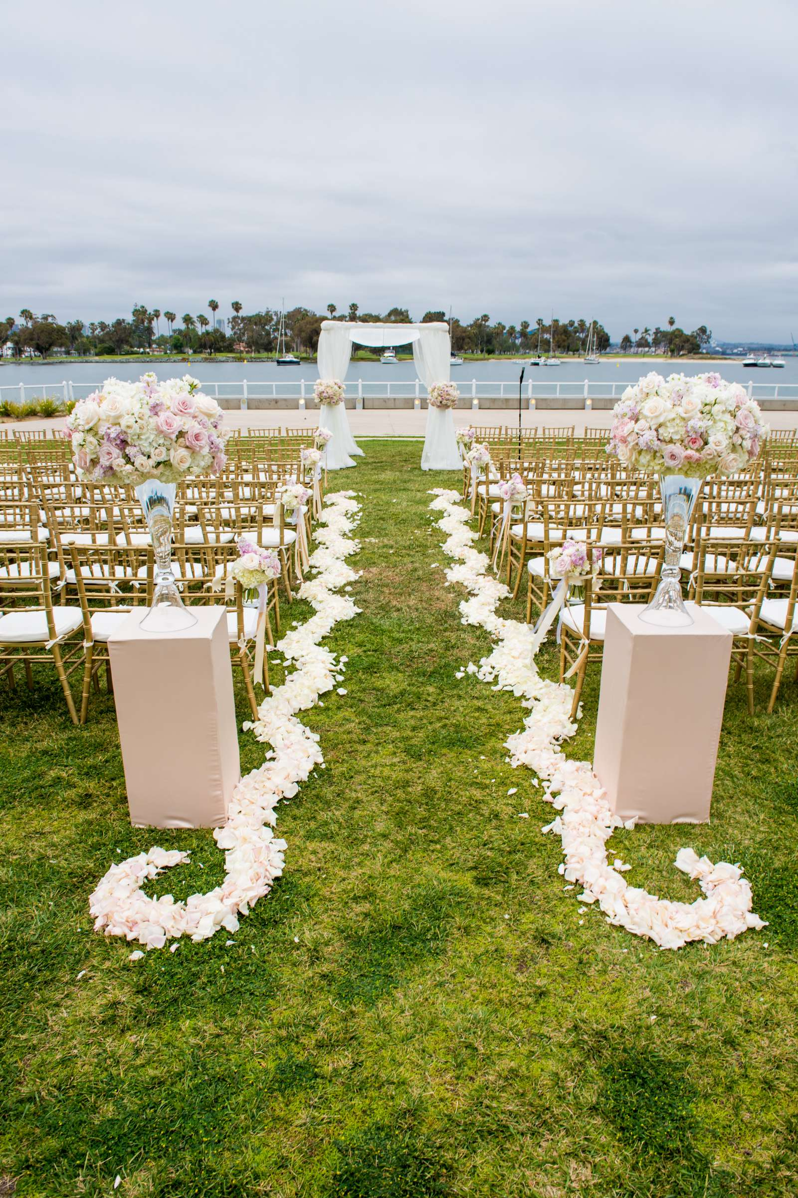 Coronado Community Center Wedding coordinated by First Comes Love Weddings & Events, Nikia and Charles Wedding Photo #9 by True Photography