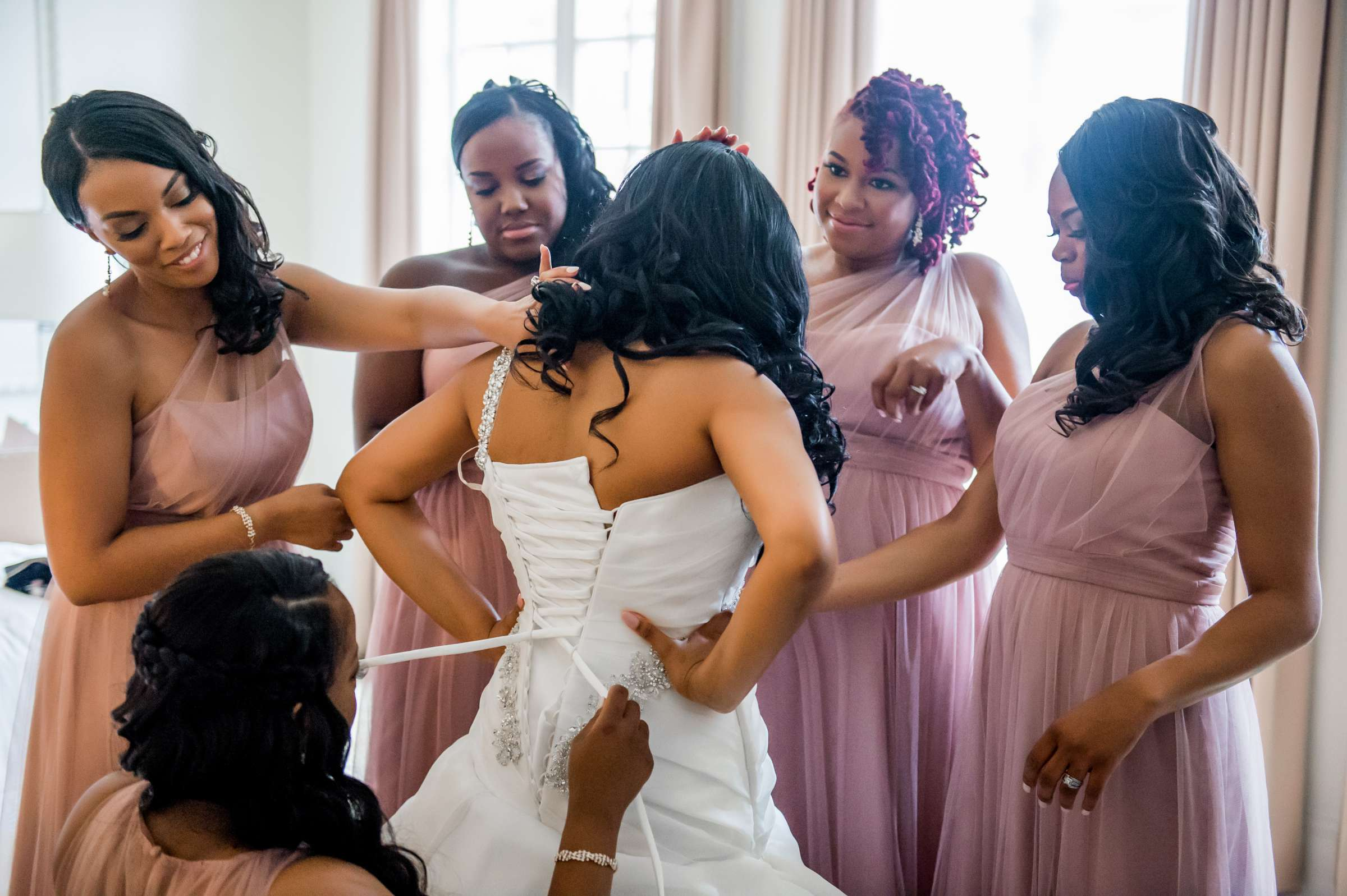 Coronado Community Center Wedding coordinated by First Comes Love Weddings & Events, Nikia and Charles Wedding Photo #18 by True Photography