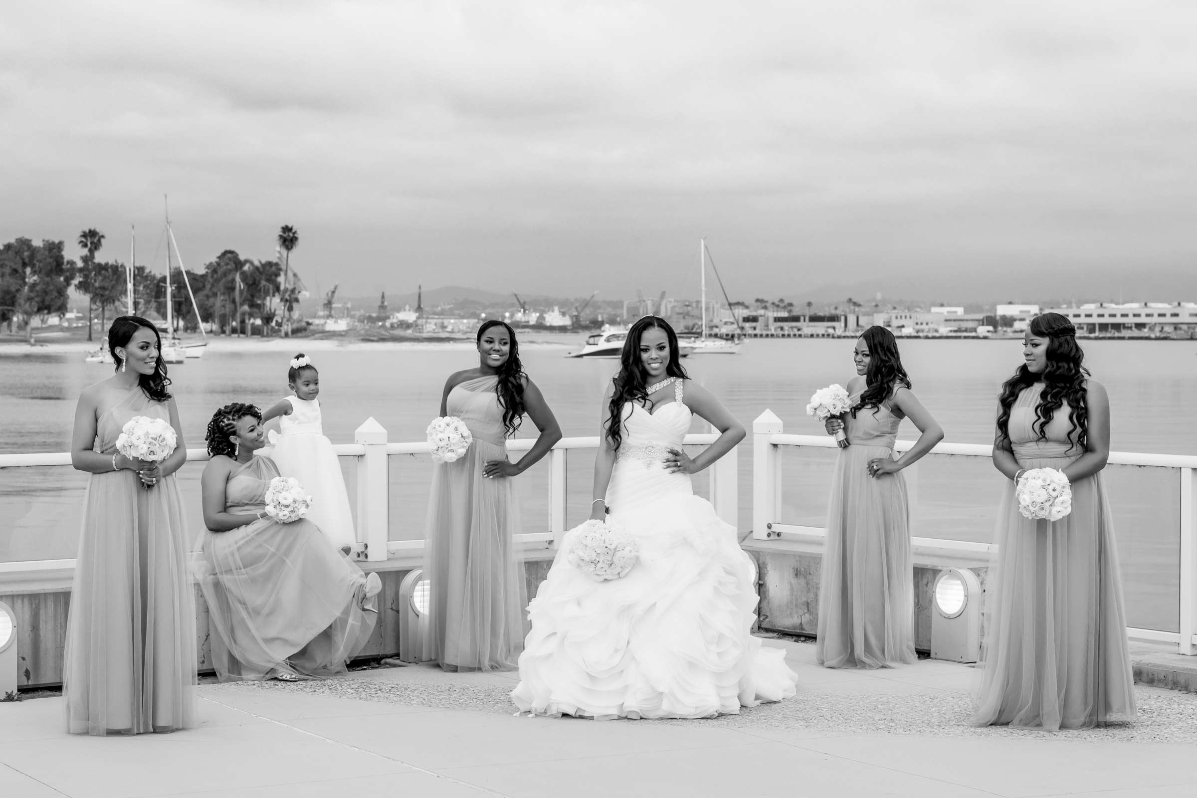 Coronado Community Center Wedding coordinated by First Comes Love Weddings & Events, Nikia and Charles Wedding Photo #29 by True Photography