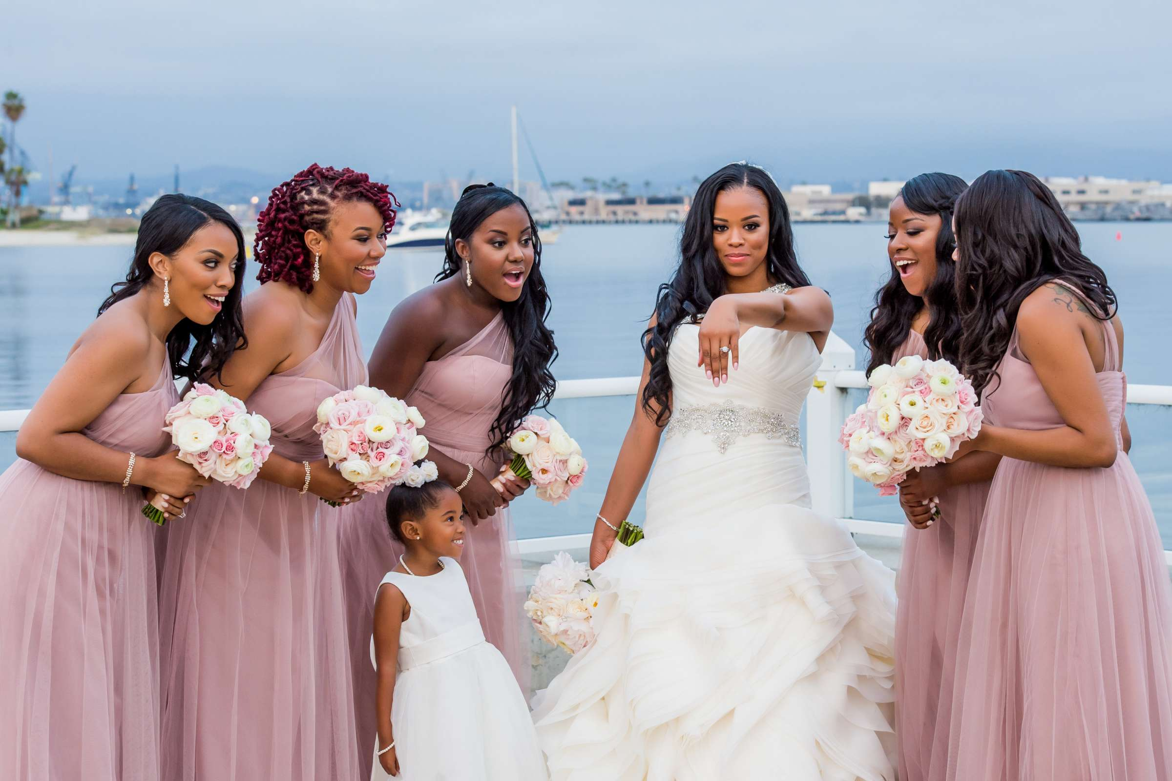 Coronado Community Center Wedding coordinated by First Comes Love Weddings & Events, Nikia and Charles Wedding Photo #31 by True Photography