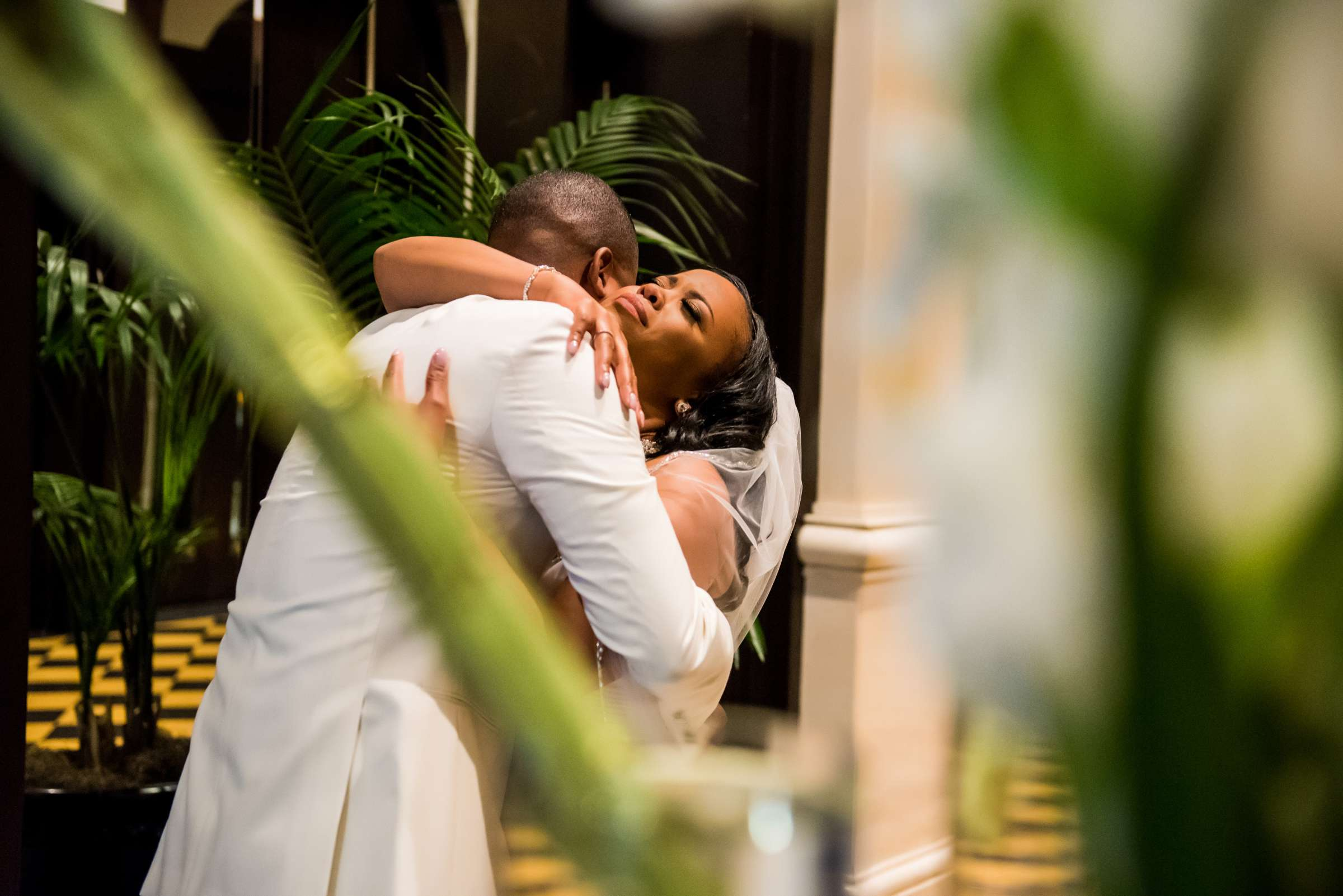 Coronado Community Center Wedding coordinated by First Comes Love Weddings & Events, Nikia and Charles Wedding Photo #37 by True Photography