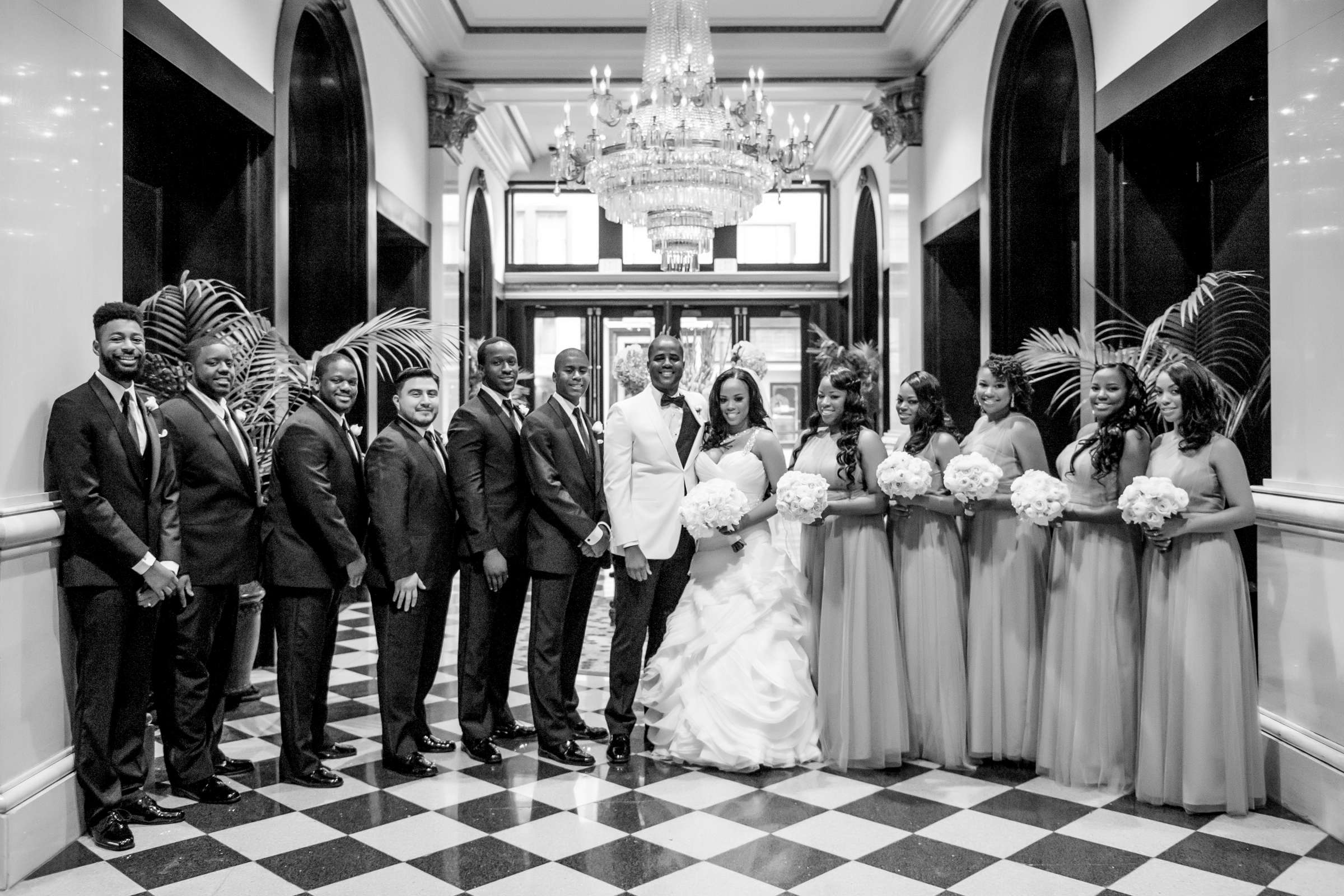 Coronado Community Center Wedding coordinated by First Comes Love Weddings & Events, Nikia and Charles Wedding Photo #39 by True Photography