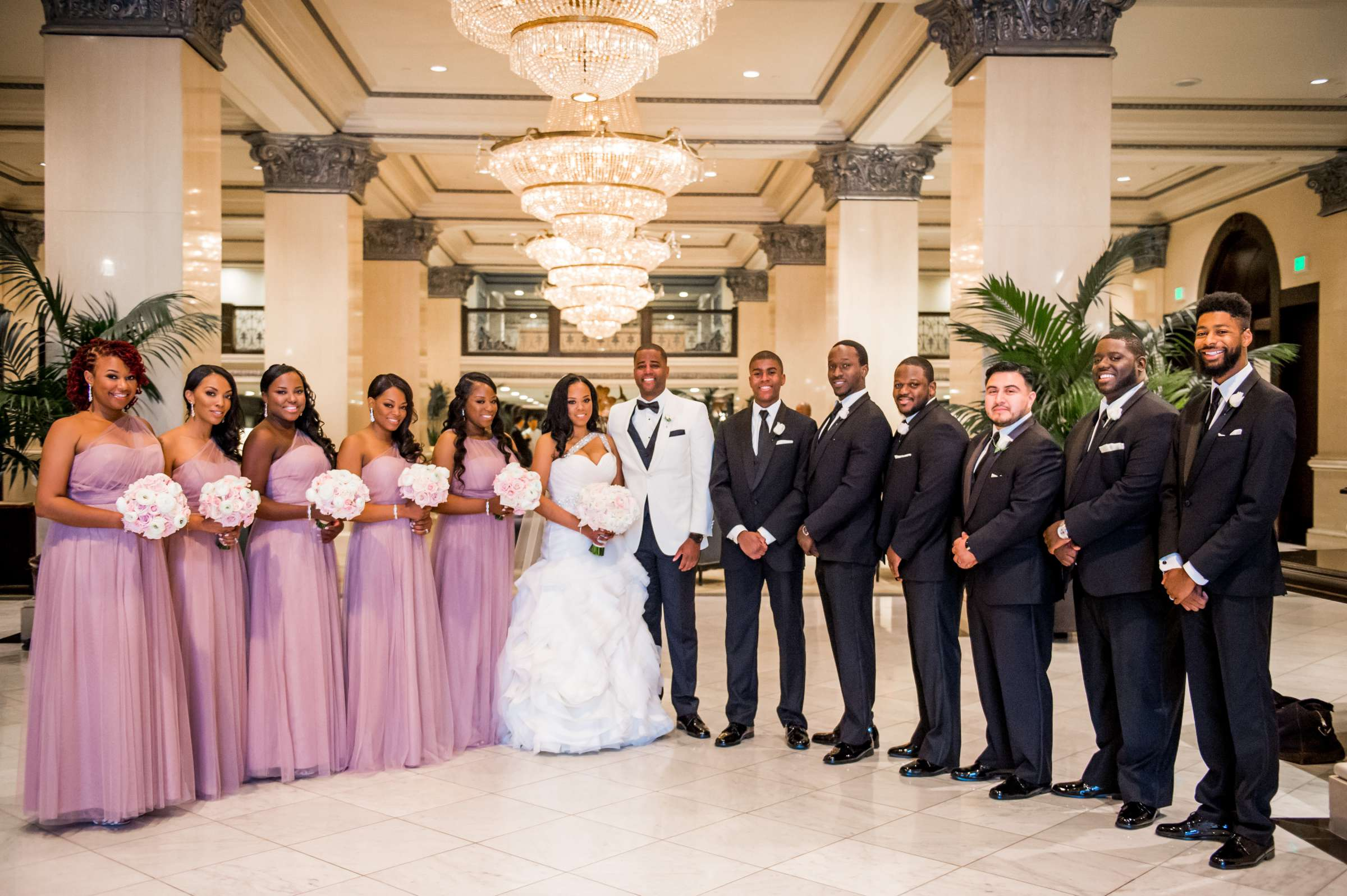 Coronado Community Center Wedding coordinated by First Comes Love Weddings & Events, Nikia and Charles Wedding Photo #44 by True Photography