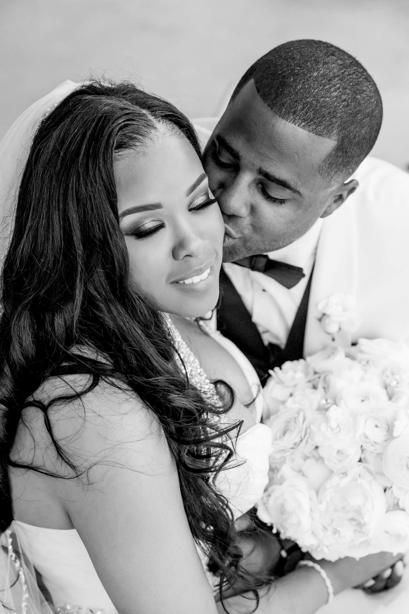 Coronado Community Center Wedding coordinated by First Comes Love Weddings & Events, Nikia and Charles Wedding Photo #63 by True Photography