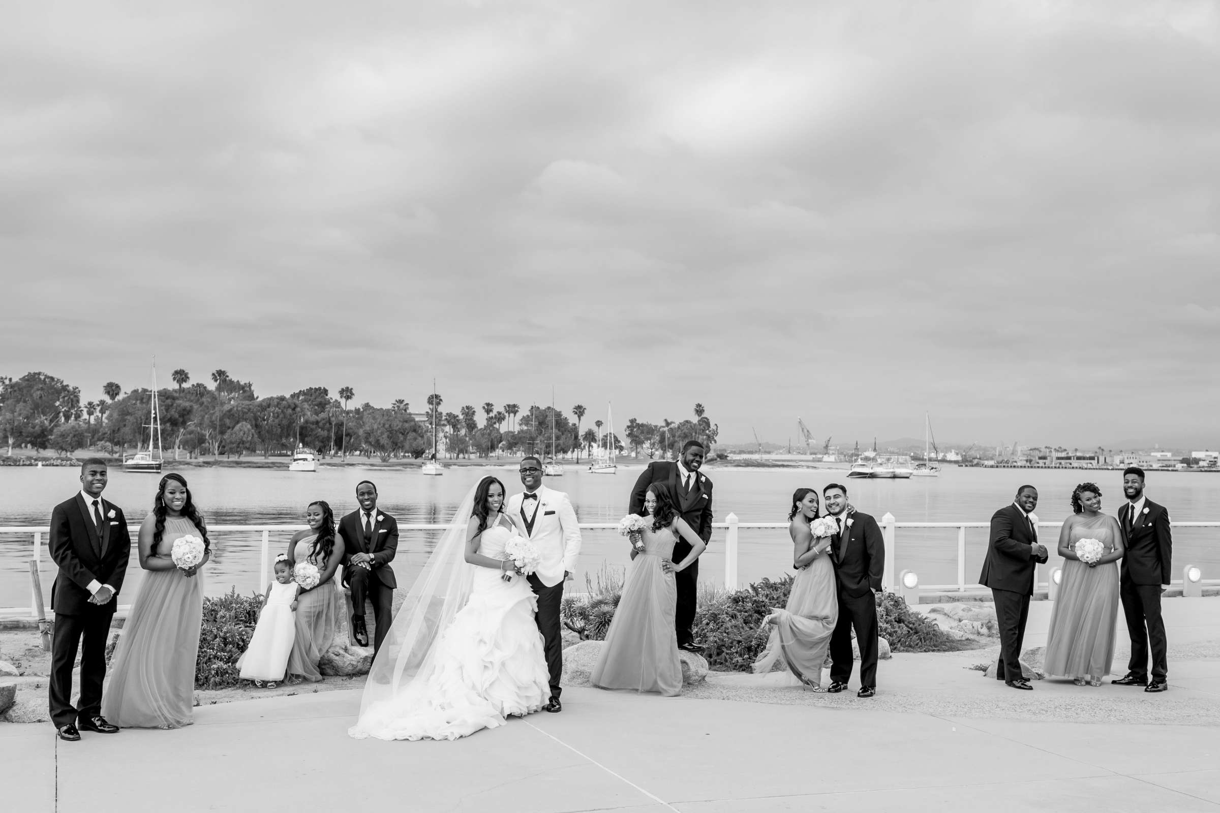 Coronado Community Center Wedding coordinated by First Comes Love Weddings & Events, Nikia and Charles Wedding Photo #66 by True Photography