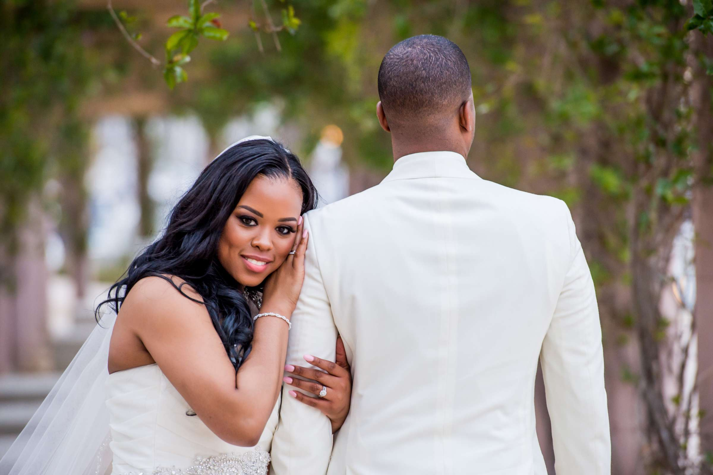 Coronado Community Center Wedding coordinated by First Comes Love Weddings & Events, Nikia and Charles Wedding Photo #67 by True Photography