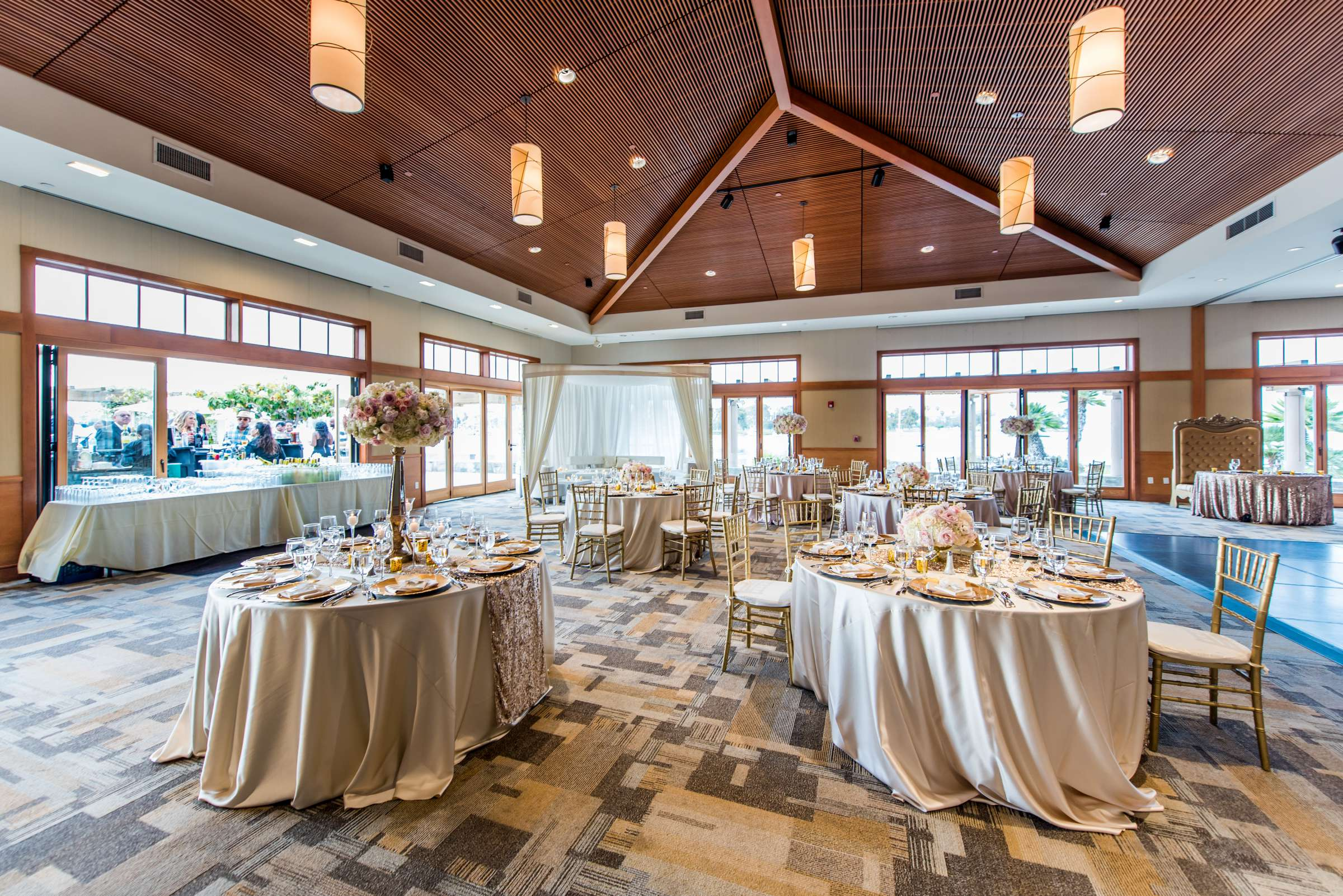 Coronado Community Center Wedding coordinated by First Comes Love Weddings & Events, Nikia and Charles Wedding Photo #68 by True Photography