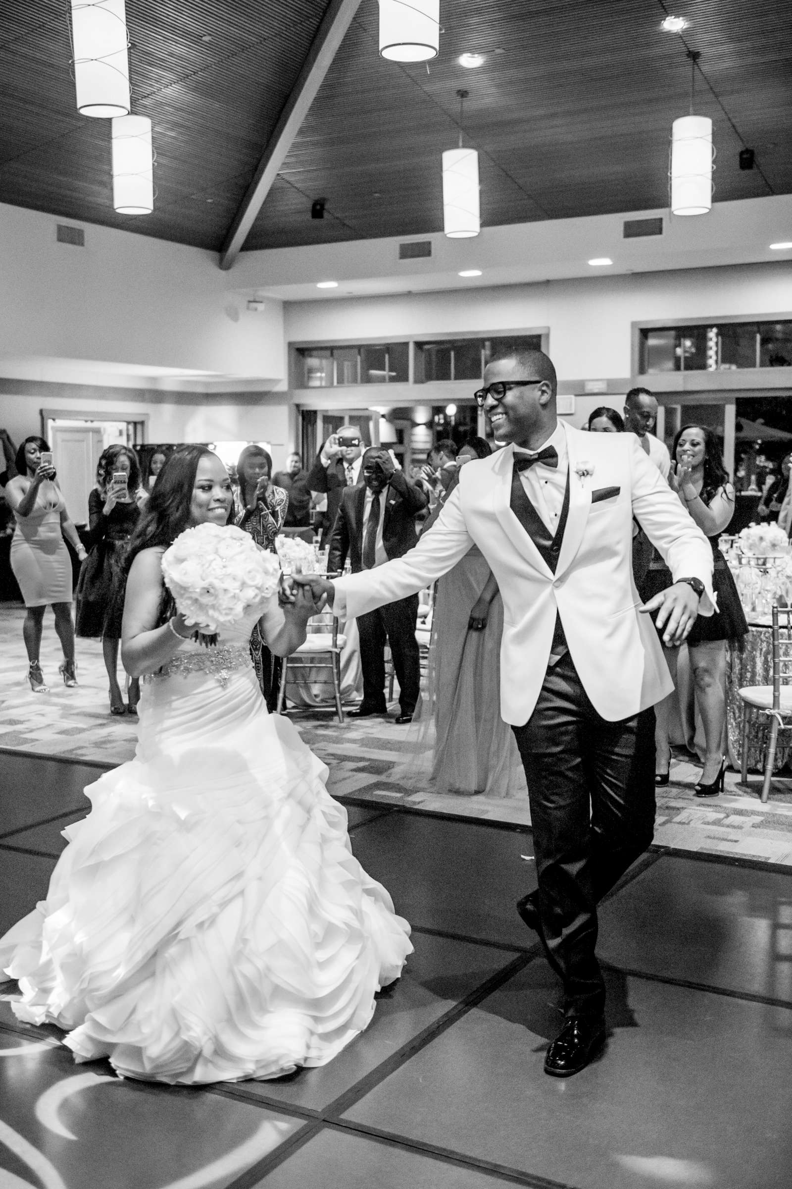Coronado Community Center Wedding coordinated by First Comes Love Weddings & Events, Nikia and Charles Wedding Photo #70 by True Photography