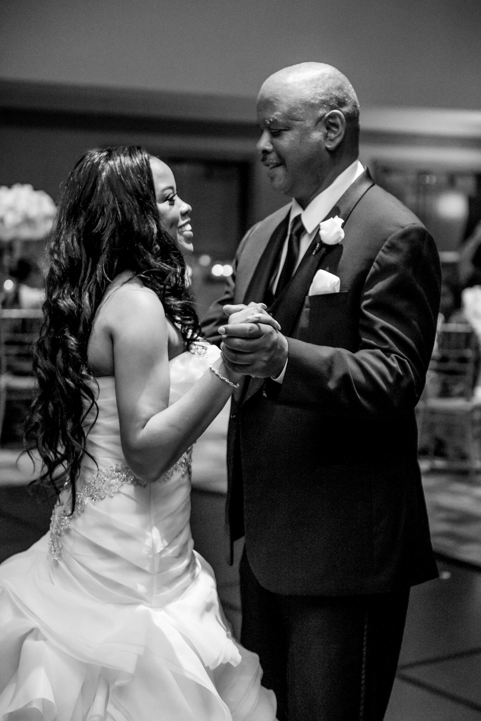 Coronado Community Center Wedding coordinated by First Comes Love Weddings & Events, Nikia and Charles Wedding Photo #80 by True Photography